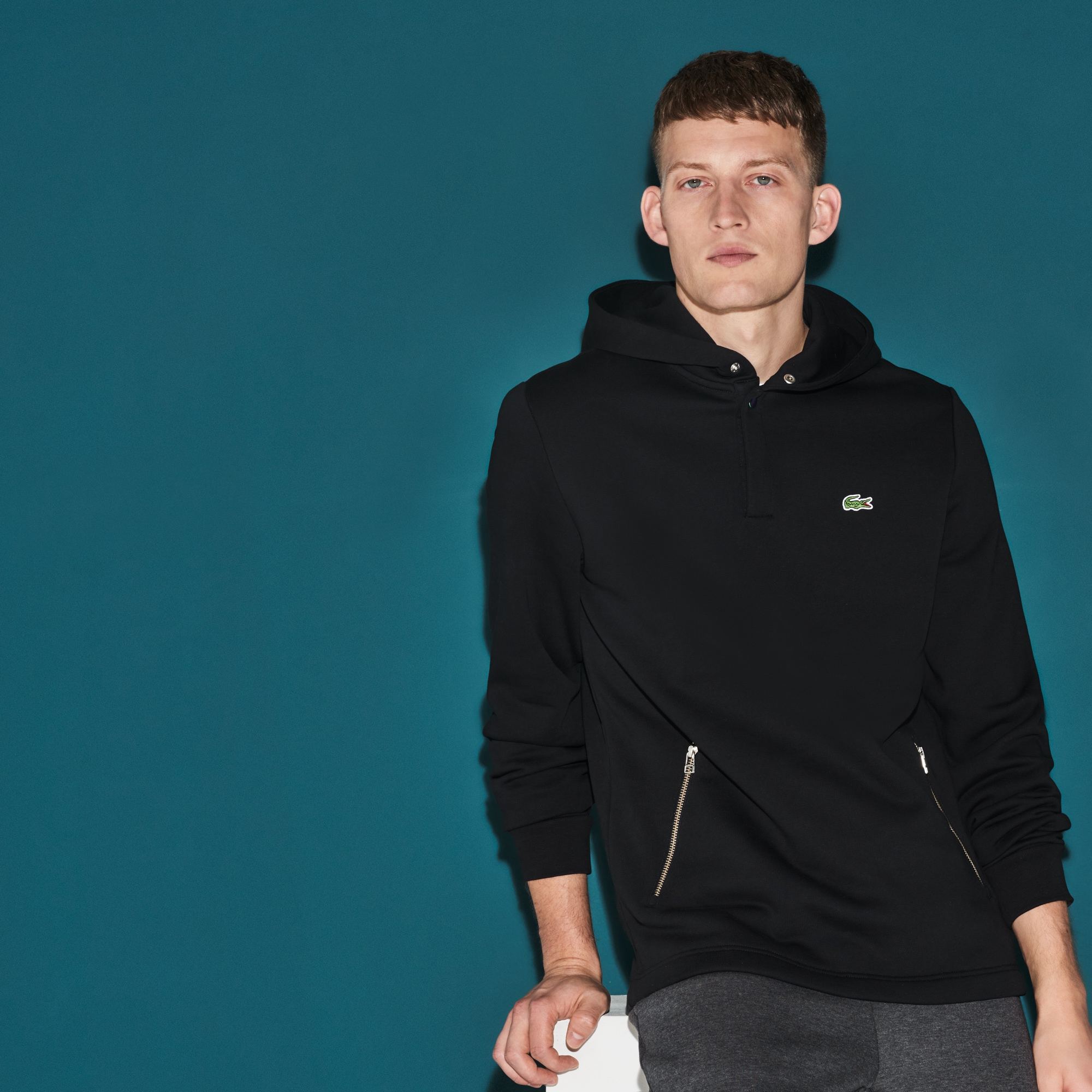 Men's SPORT Hooded Tennis Sweatshirt