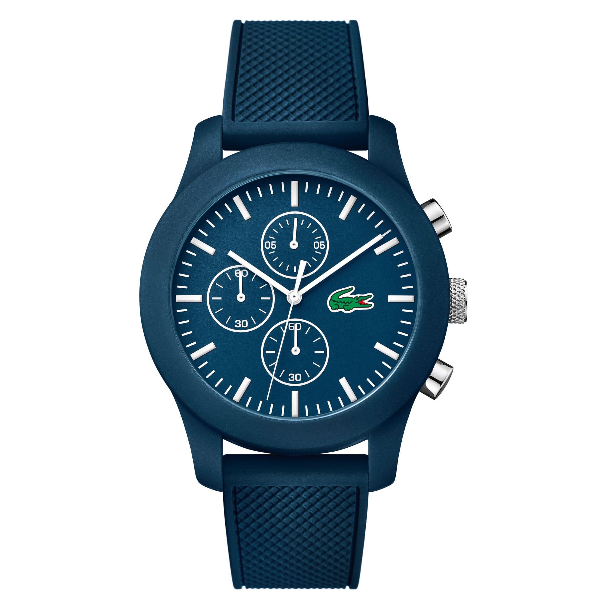 Unisex Lacoste.12.12 Chronograph Blue Watch