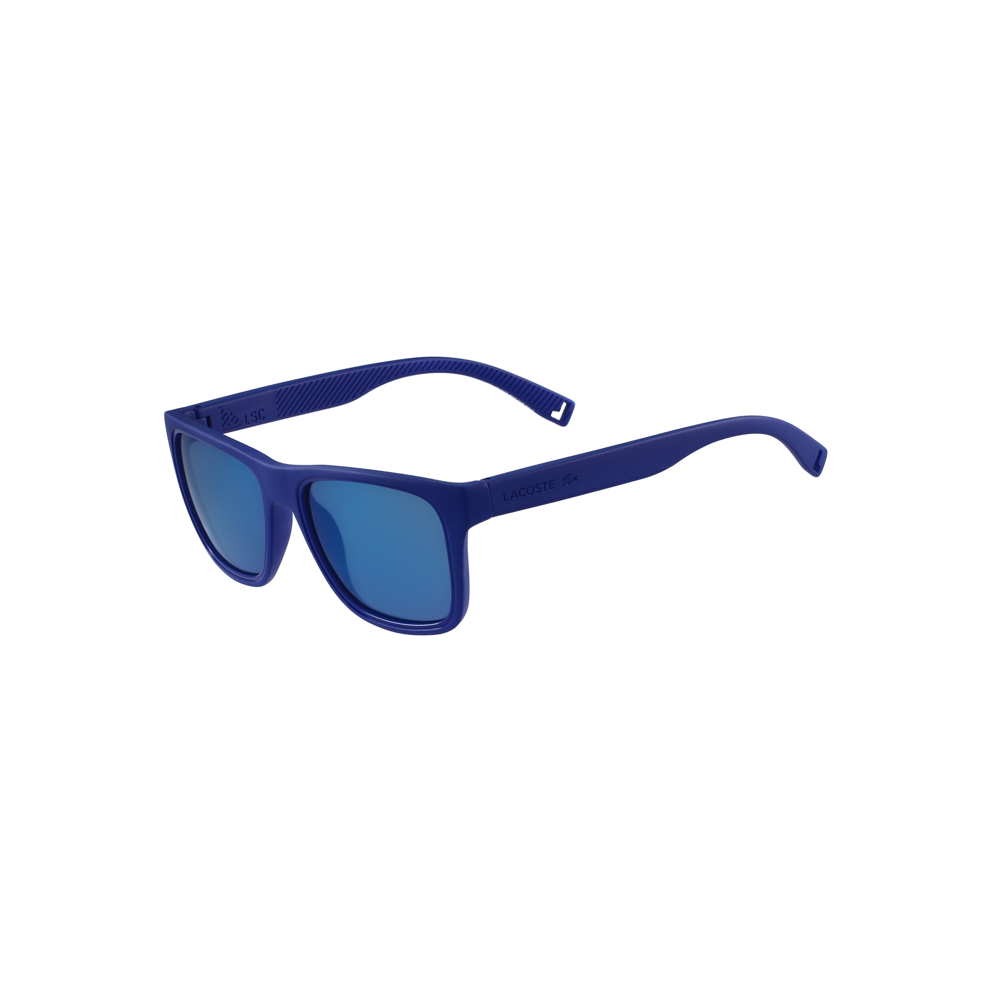 라코스테 선글라스 Lacoste Mens Floatable Color Block Sunglasses,blue