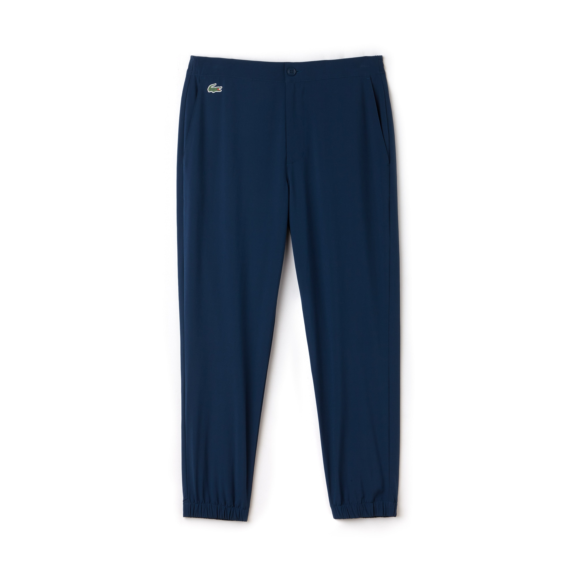 라코스테 스포츠 트랙 팬츠 Lacoste Mens SPORT Stretch Technical Midlayer Trackpants - x Novak Djokovic Off Court Premium Edition,AZURITE