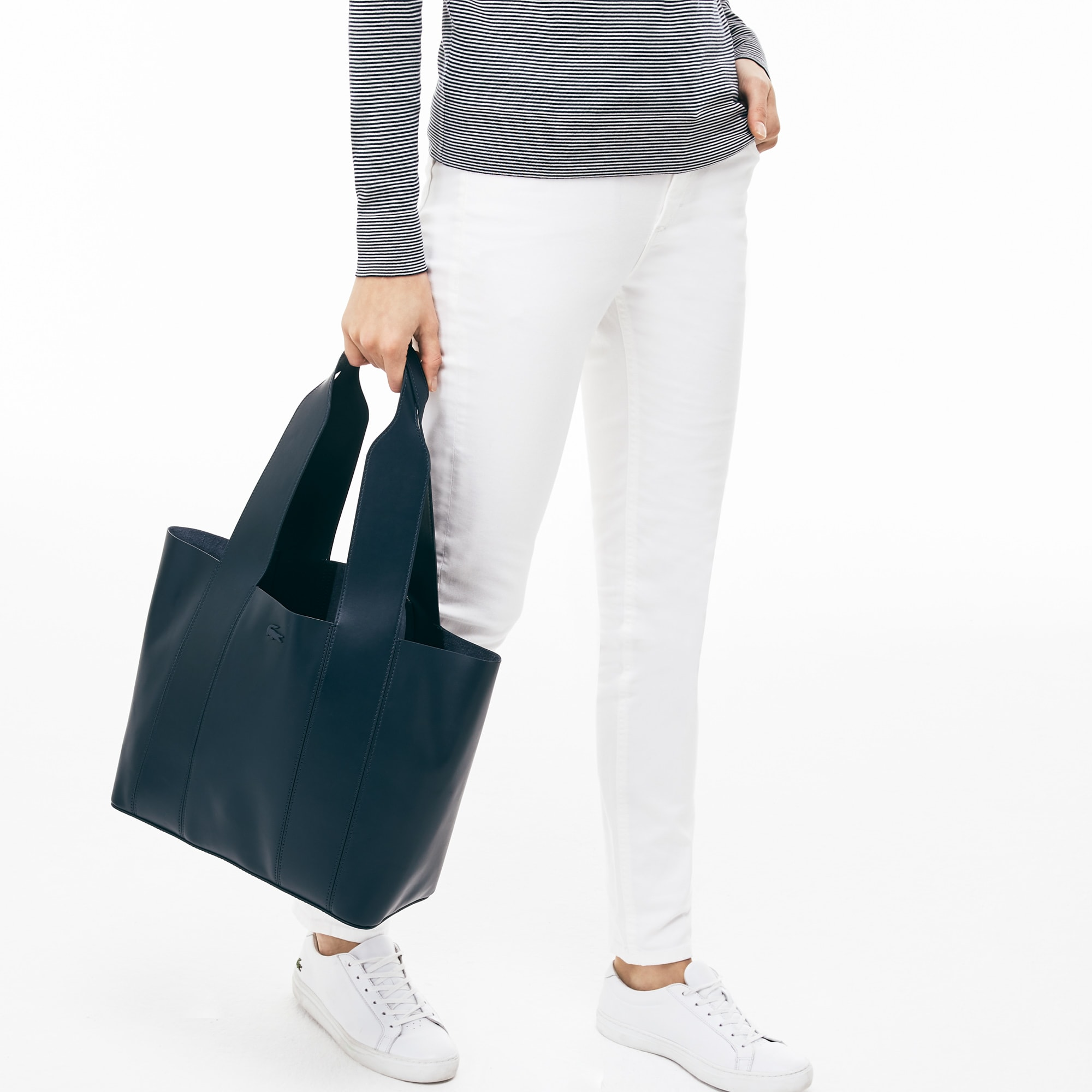 Women's Purity Soft Monochrome Leather Tote Bag