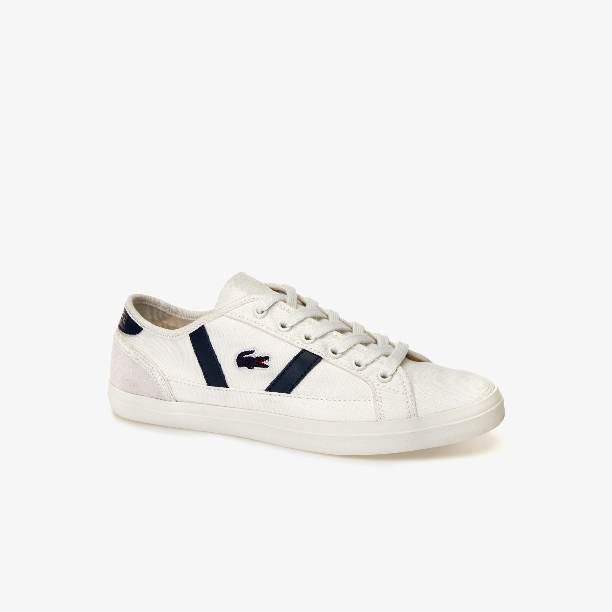 lacoste white leather sneakers womens