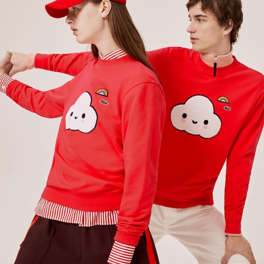 Unisex Lacoste x FriendsWithYou Print Sweatshirt