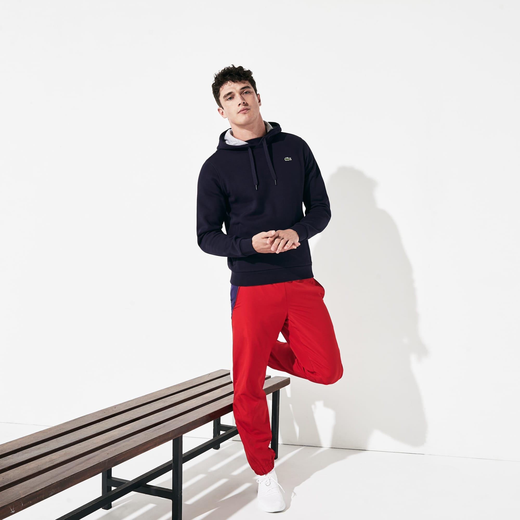 Men's  Sport Hooded Fleece Tennis Sweatshirt