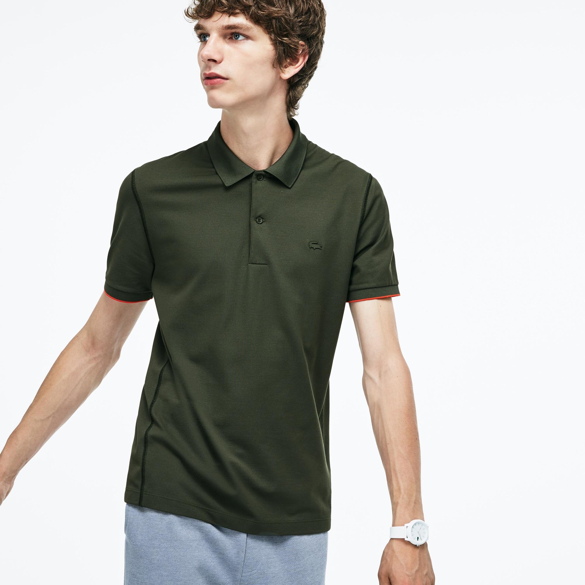 Men's Motion Regular Fit Technical Petit Piqué Polo