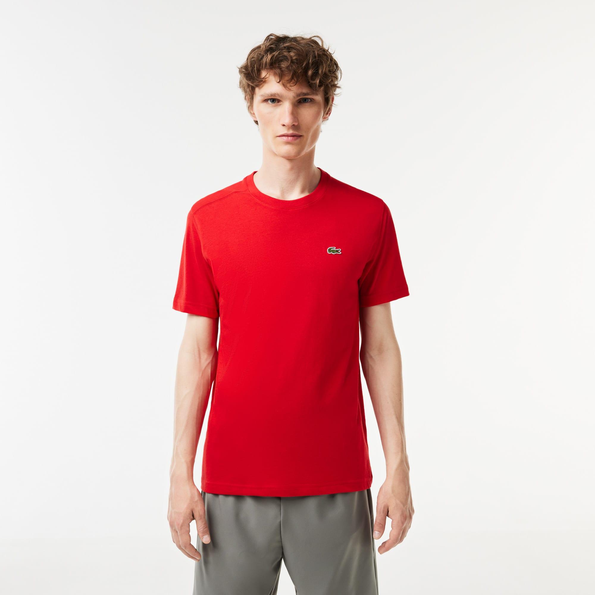 75b57e9bb + 4 colors + 7 colors. Men's SPORT Crew Neck Tennis T-Shirt. $50.00. White;  Grey Chine; Yellow