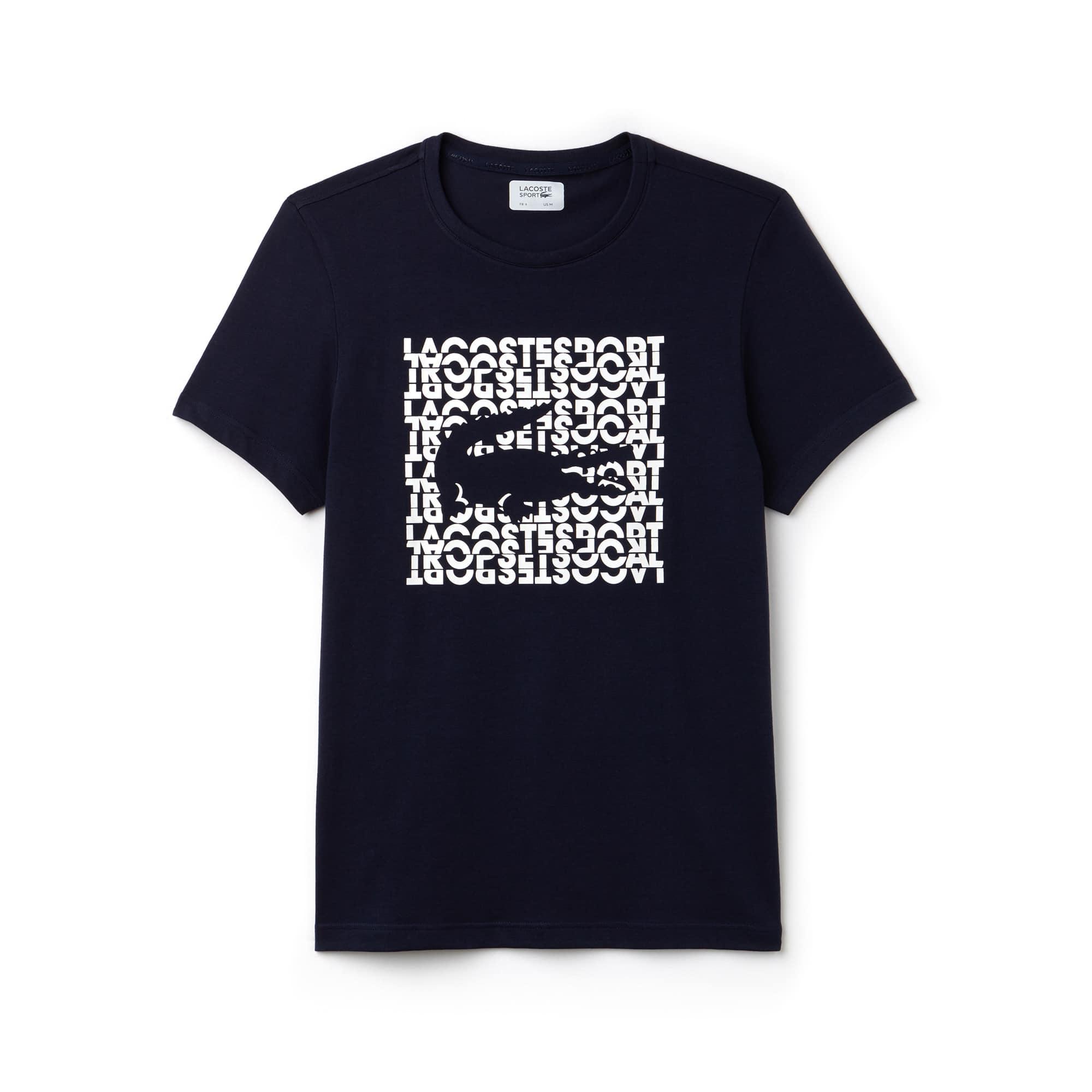 Men's SPORT Logo Technical Jersey Tennis T-shirt