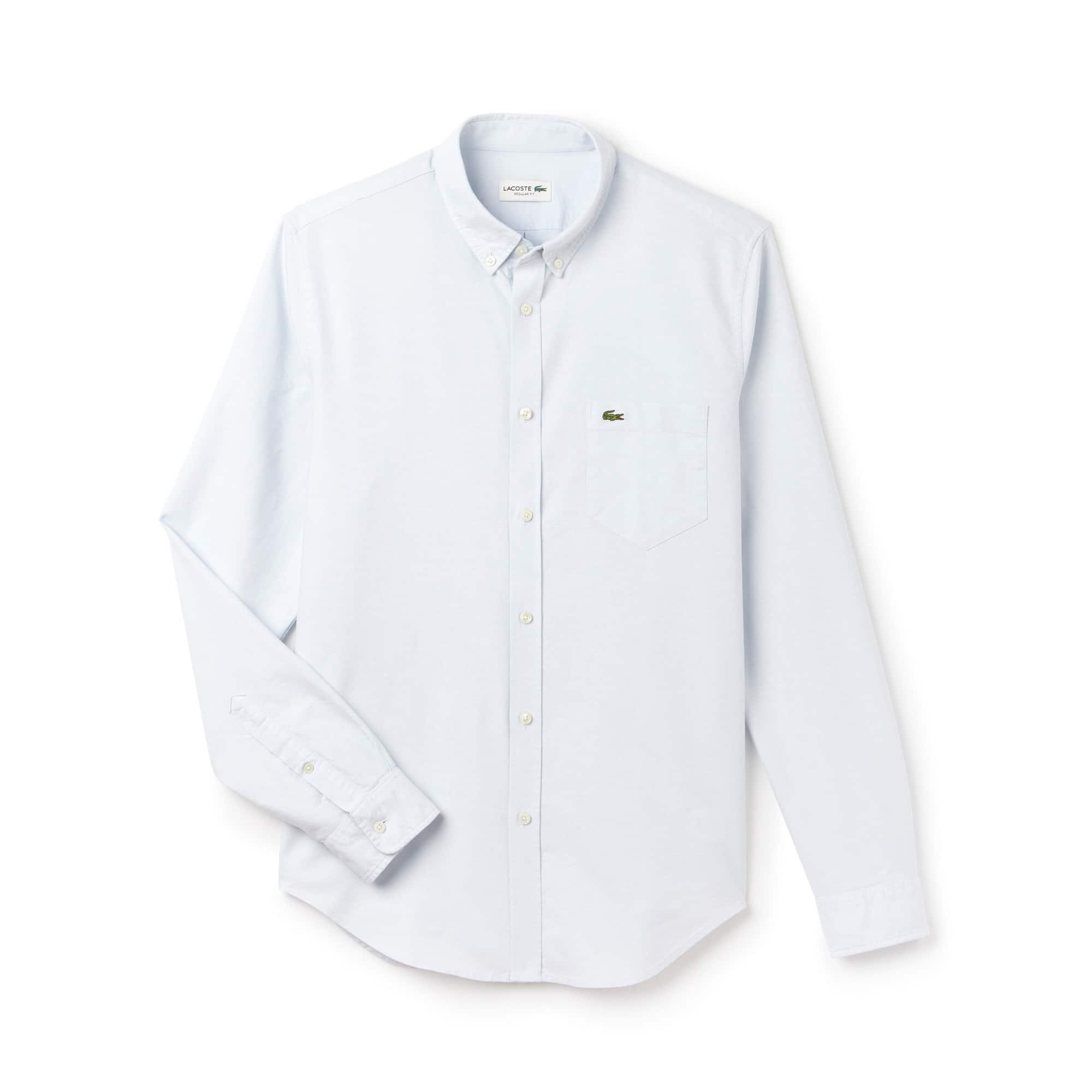 Men's Regular Fit Oxford Woven Shirt