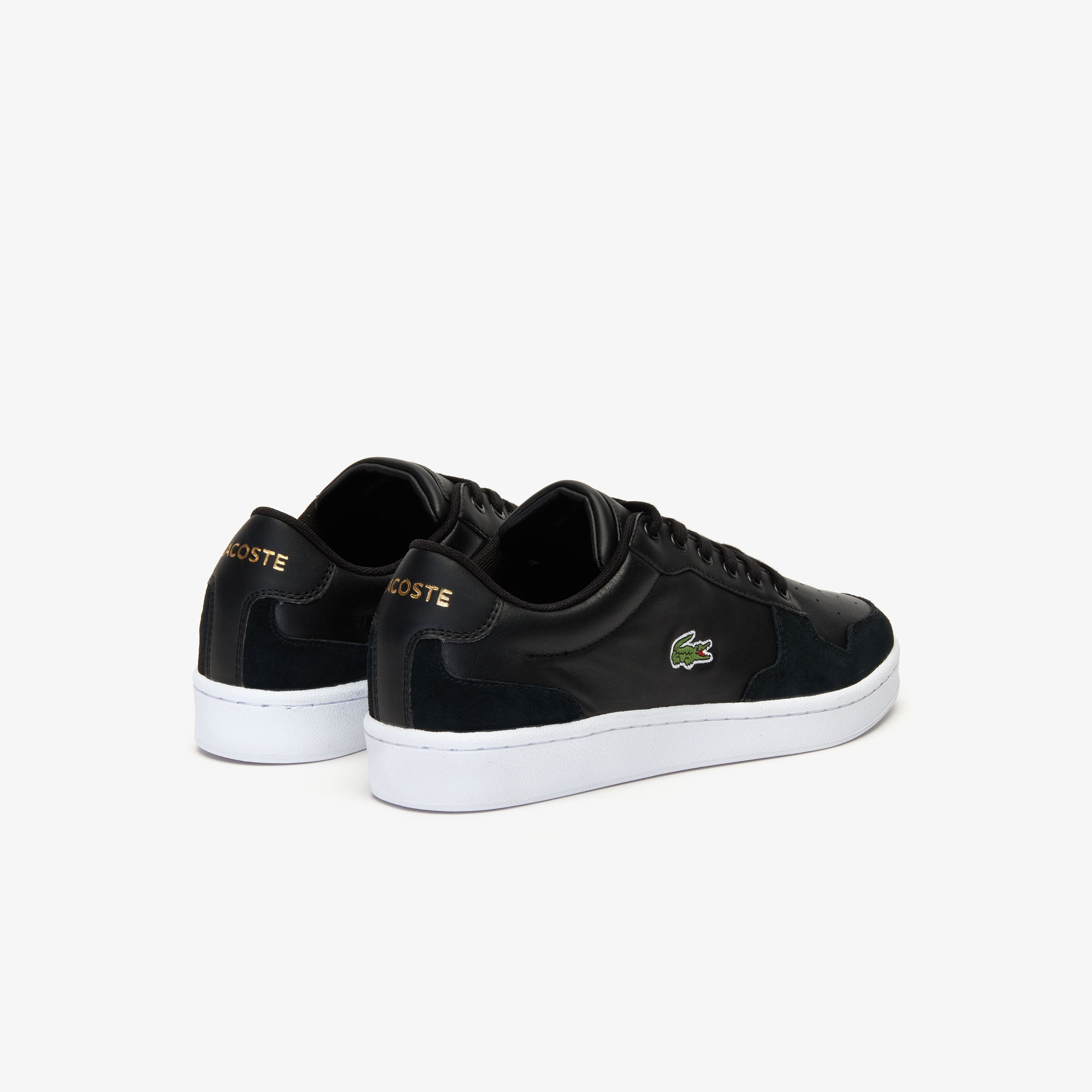 Men's Masters Cup Leather and Suede Sneakers