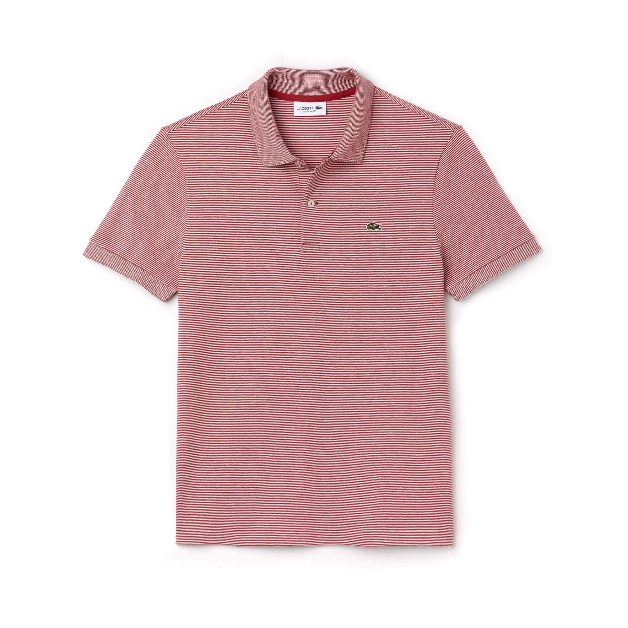 Men's Regular Fit Mini Piqué Polo