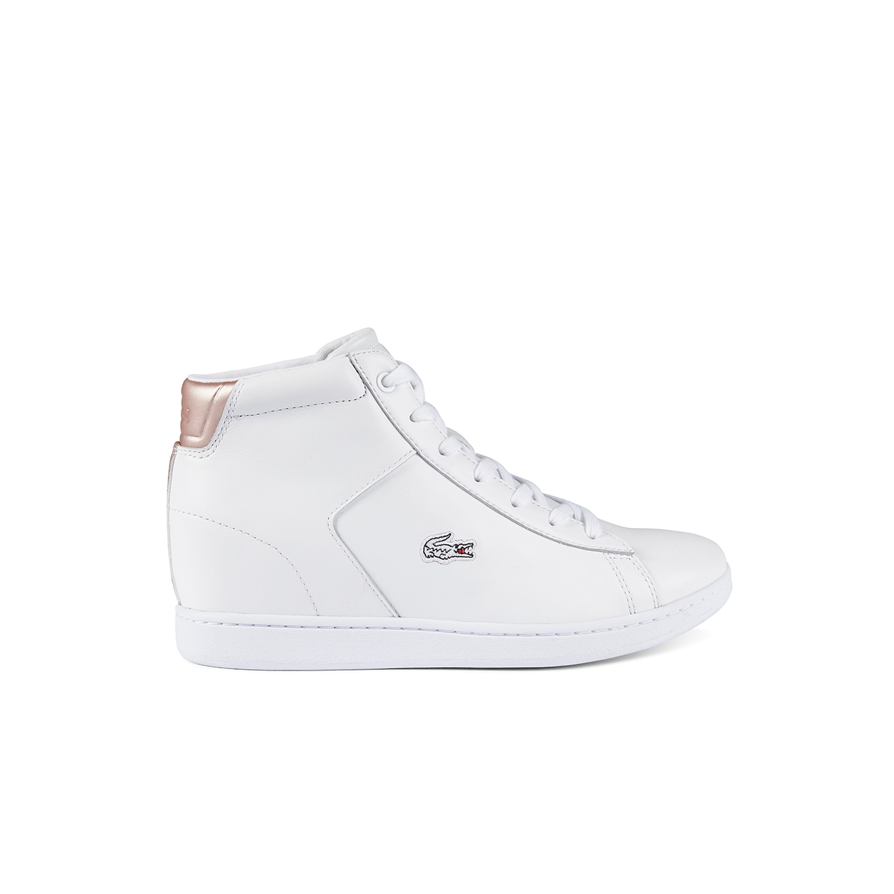 Women's Carnaby Evo Wedge Mid Leather Sneakers