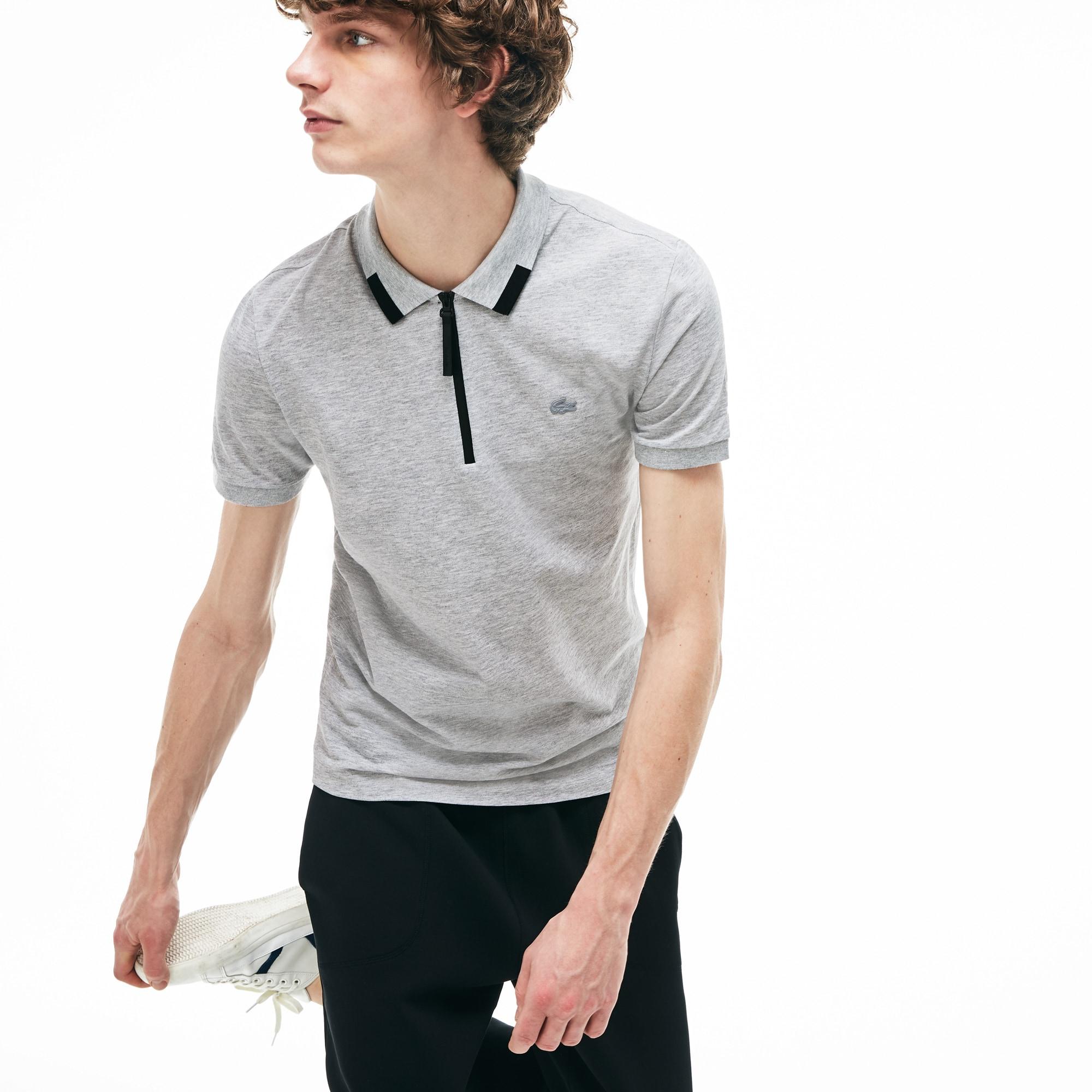Men's Lacoste Motion Cotton Piqué Polo