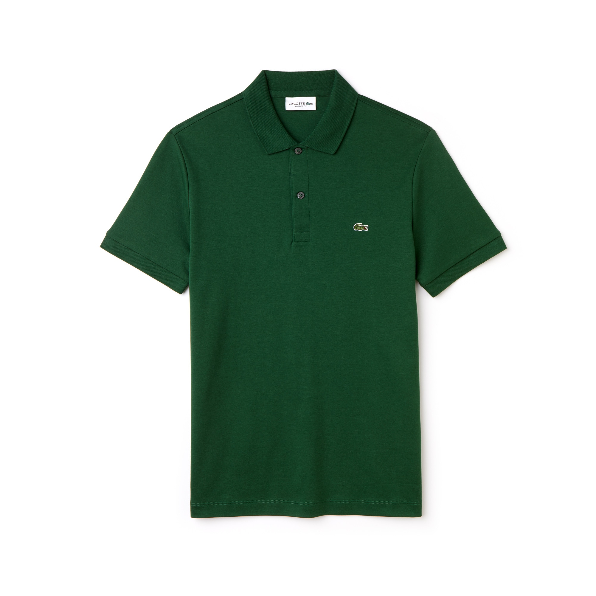 Men's Regular Fit Pima Cotton Interlock Polo