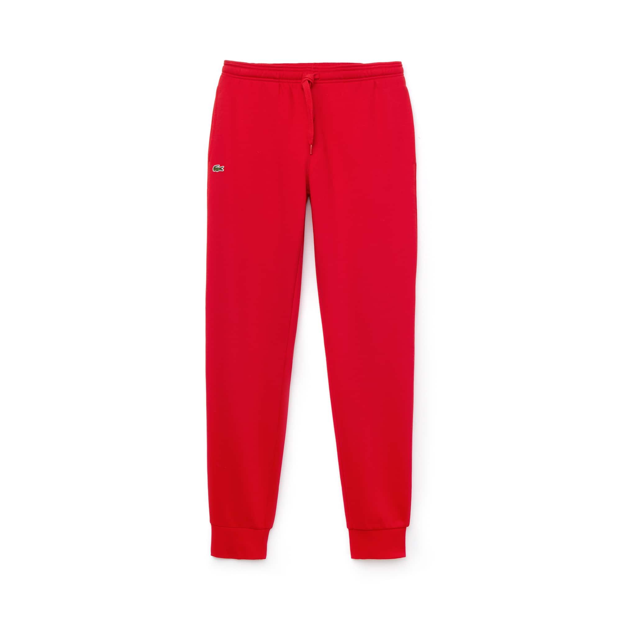 라코스테 스포츠 스웻 팬츠 Lacoste Mens SPORT Cotton Fleece Tennis Sweatpants,red