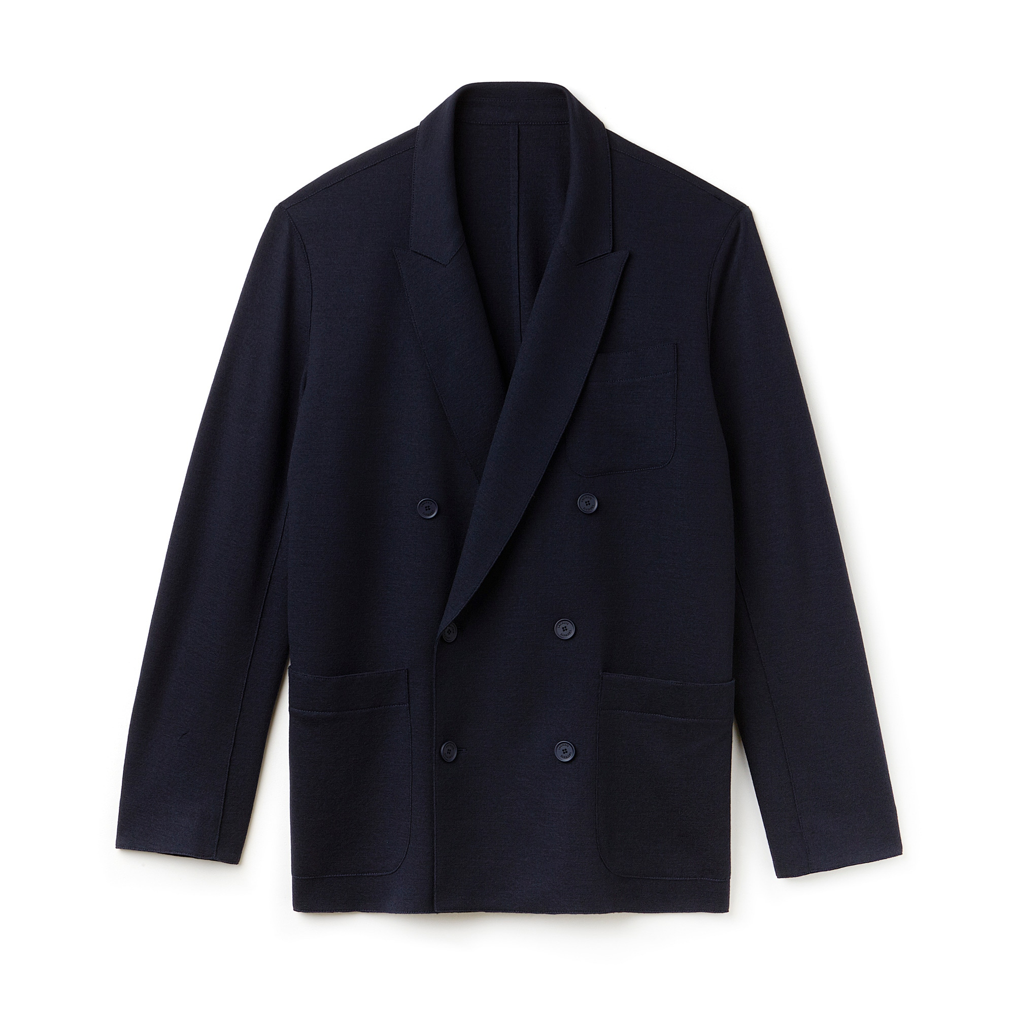 Men's Fashion Show Wool Interlock Blazer