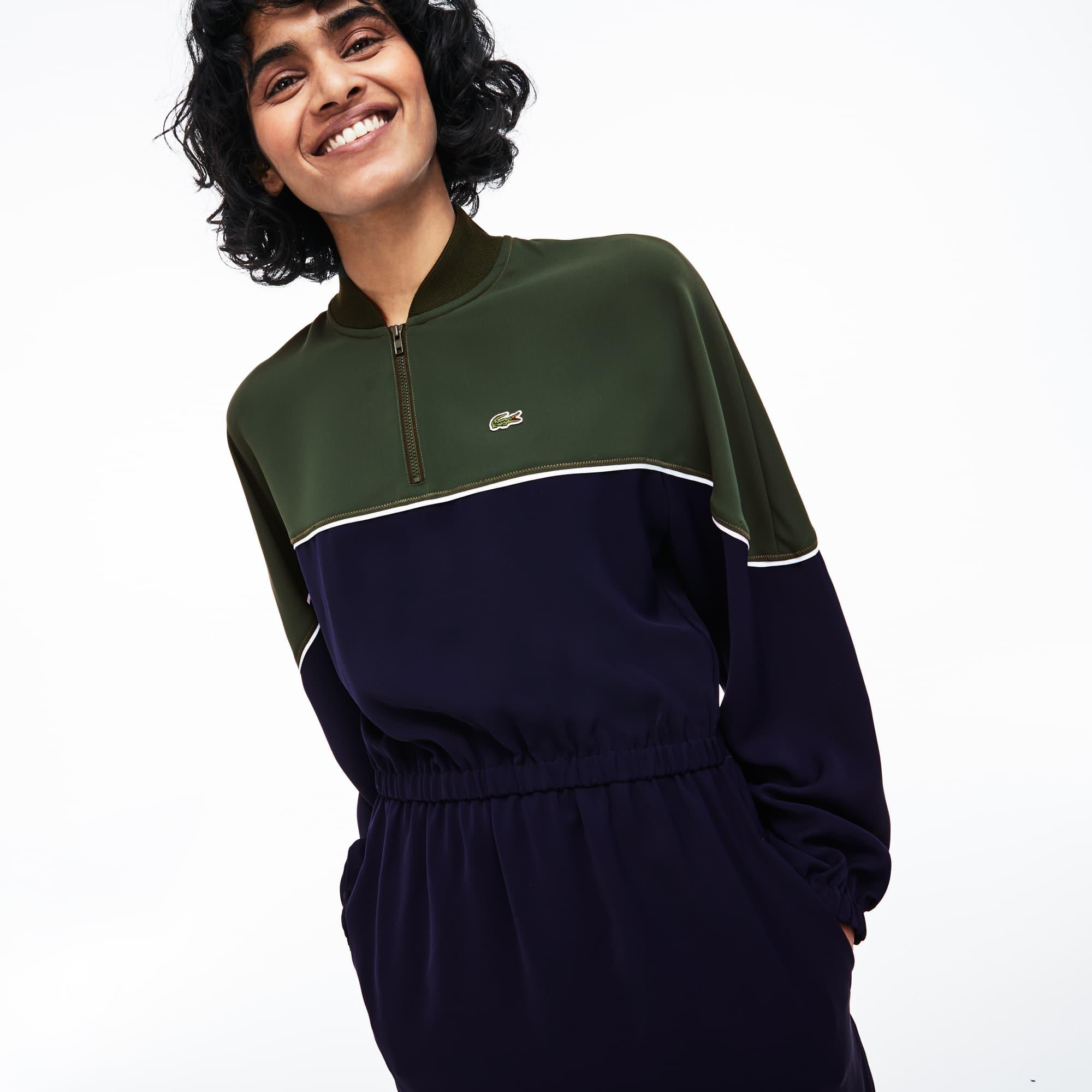 Women's Colorblock Cady Dress