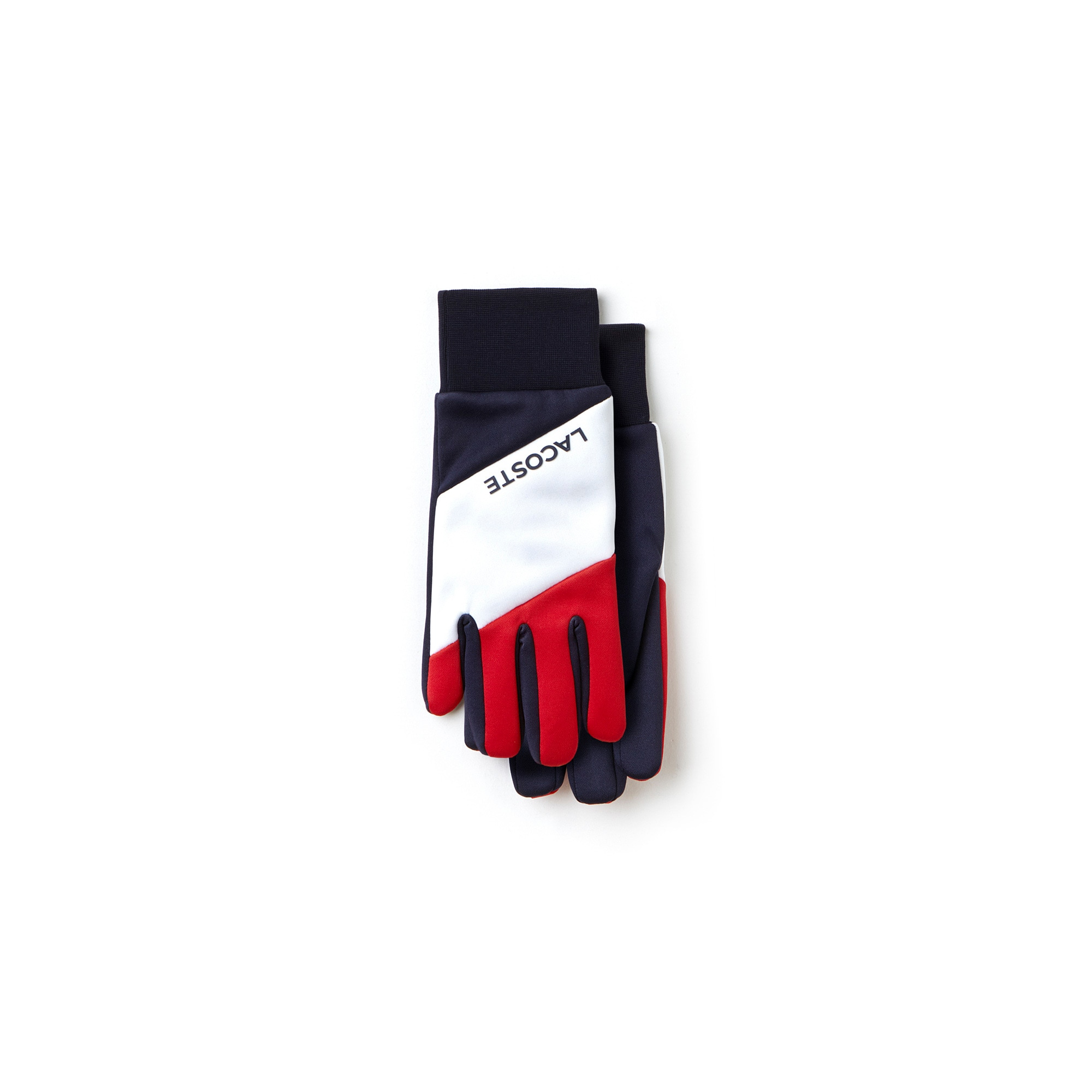 Men's French Sporting Spirit Edition Colorblock Polar Fleece Gloves