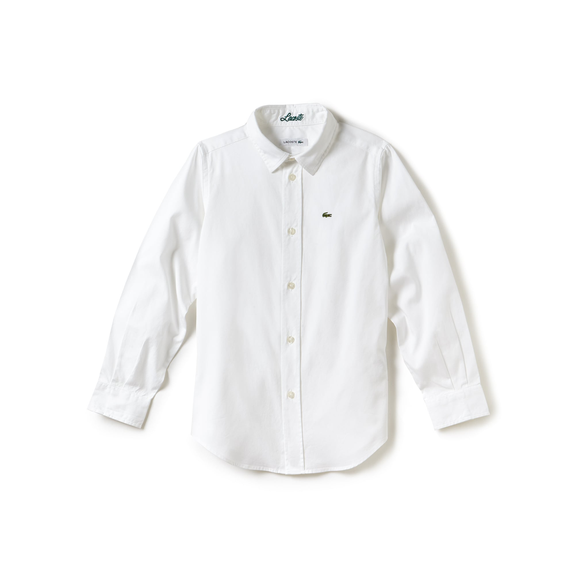 Boy's Oxford Cotton Knit Shirt