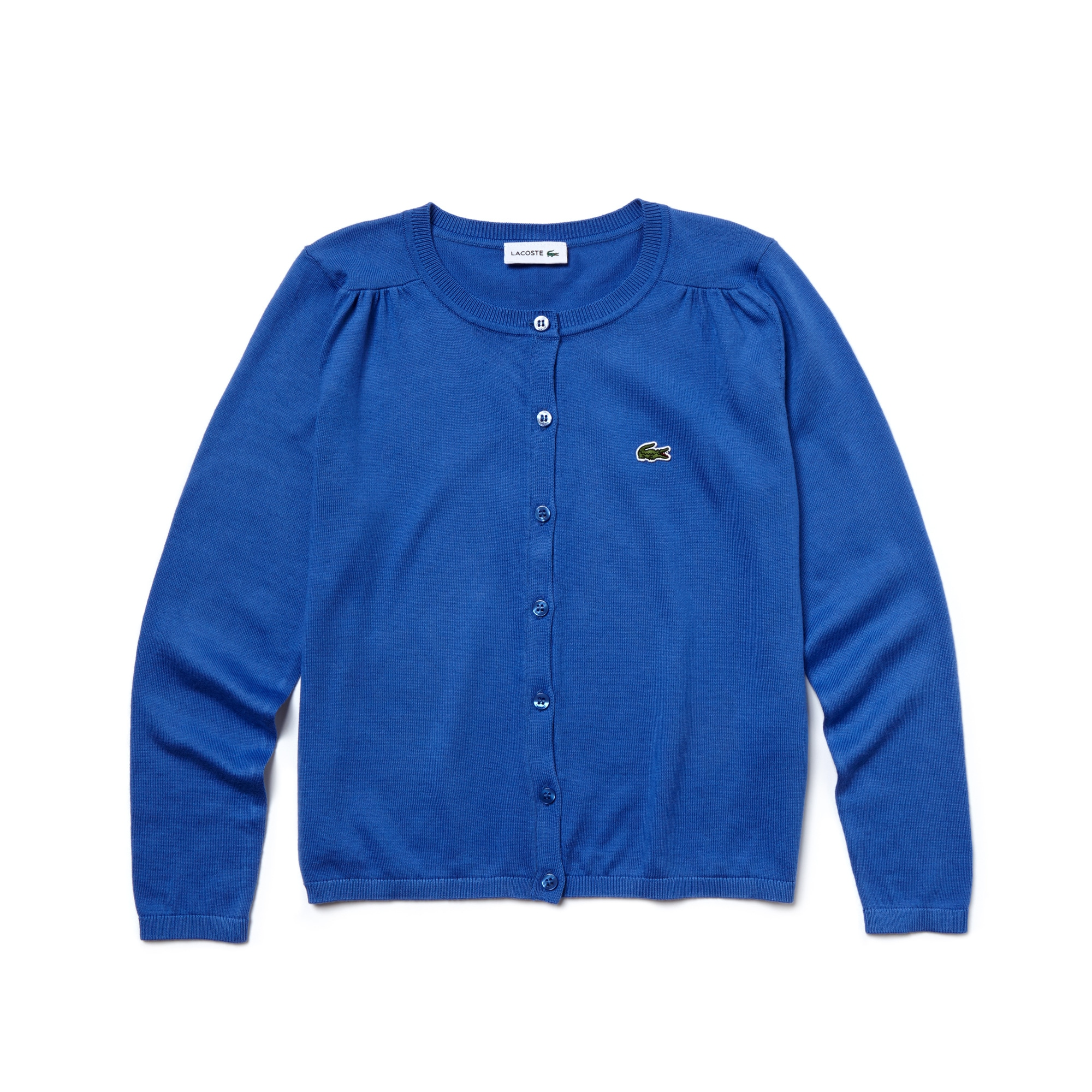 Kid's Crew Neck Jersey Cardigan