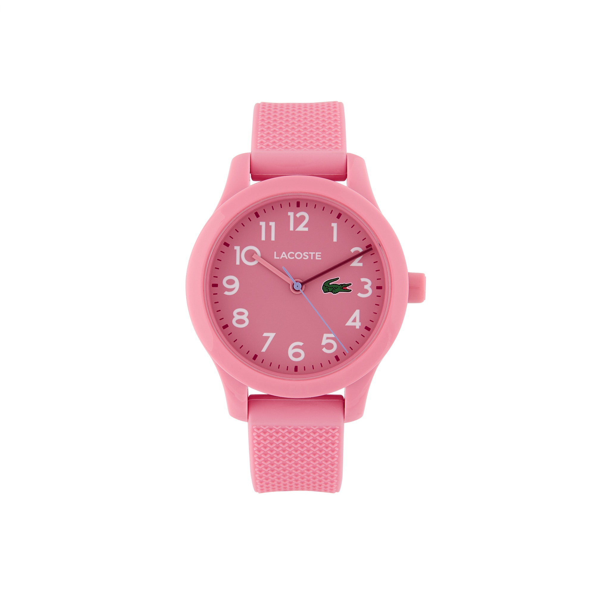 Kids Lacoste.12.12 Pink Silicon Strap