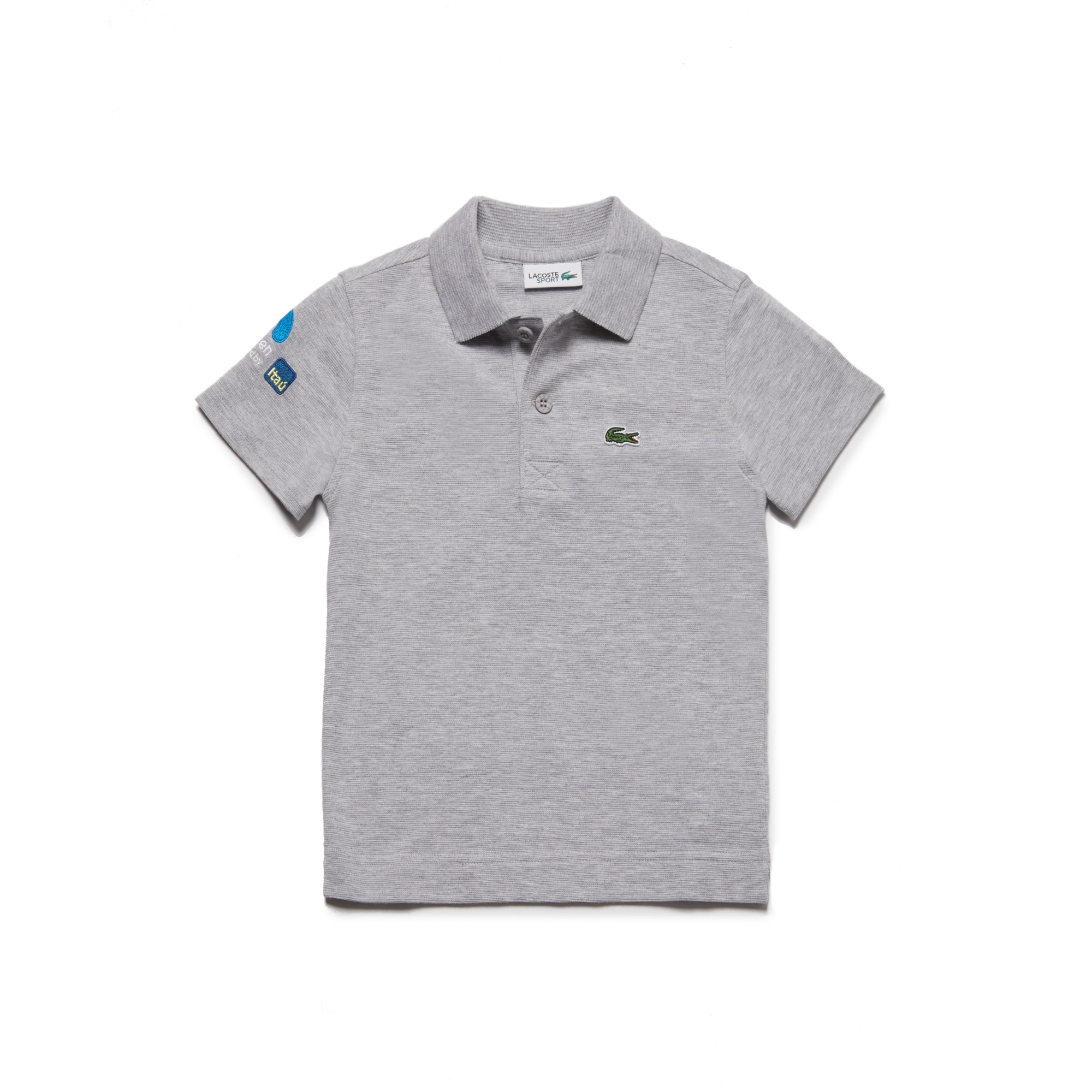 Boys' SPORT Miami Open Ultra-Light Cotton Tennis Polo