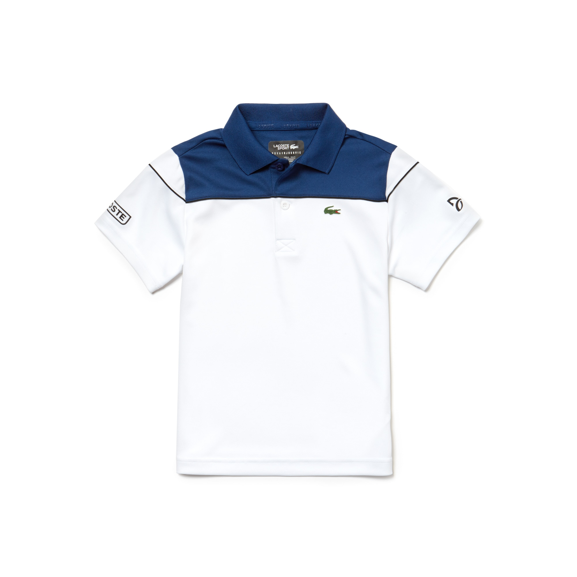 Boys' SPORT Colorblock Technical Piqué Polo - x Novak Djokovic