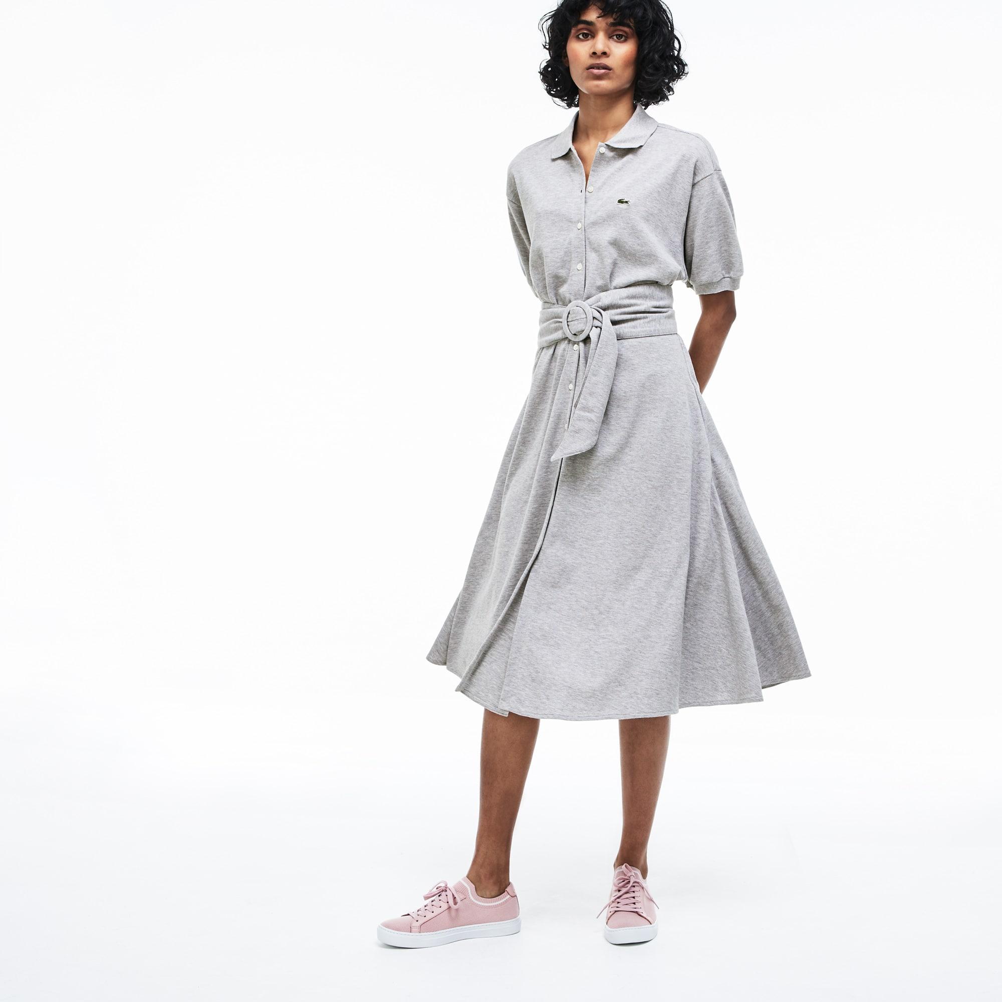 0f9ab9d1d Women s Stretch Cotton Mini Piqué Polo Dress.  155.00. Grey Chine · Navy  Blue · White · Navy Blue. + 3 colors