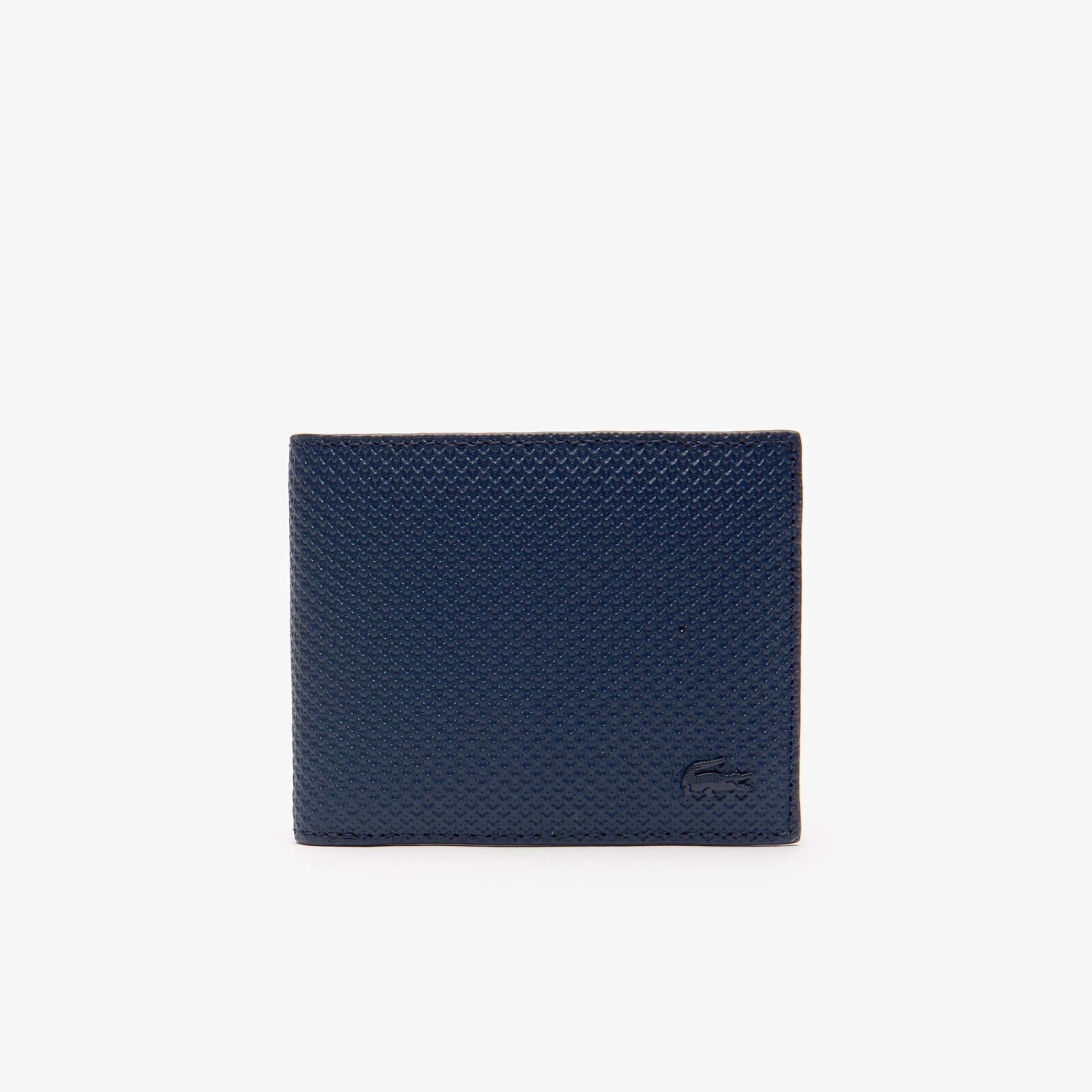 Men's Chantaco Piqué Leather 3 Card Wallet
