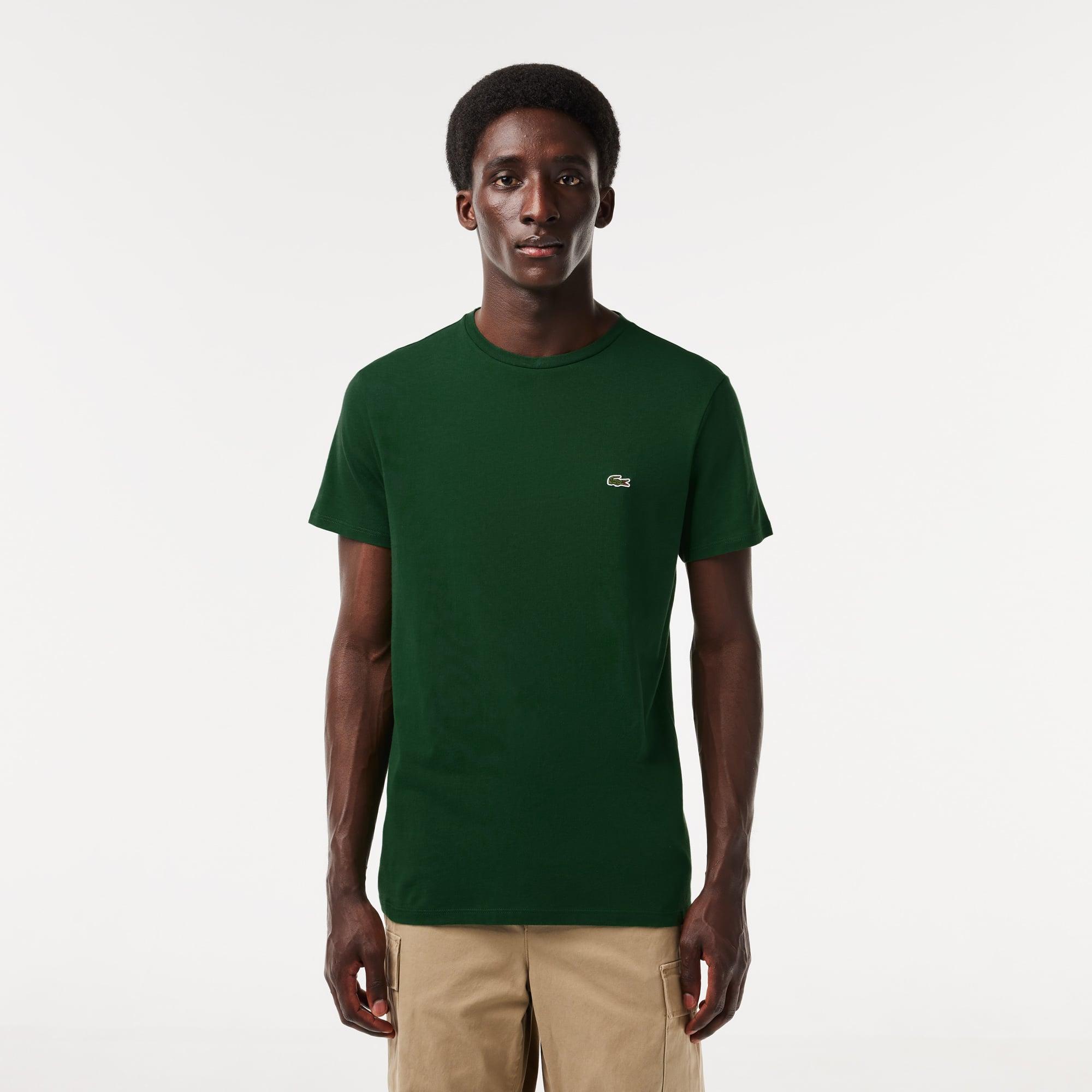 Lacoste Men's Crew Neck Pima Cotton T-Shirt