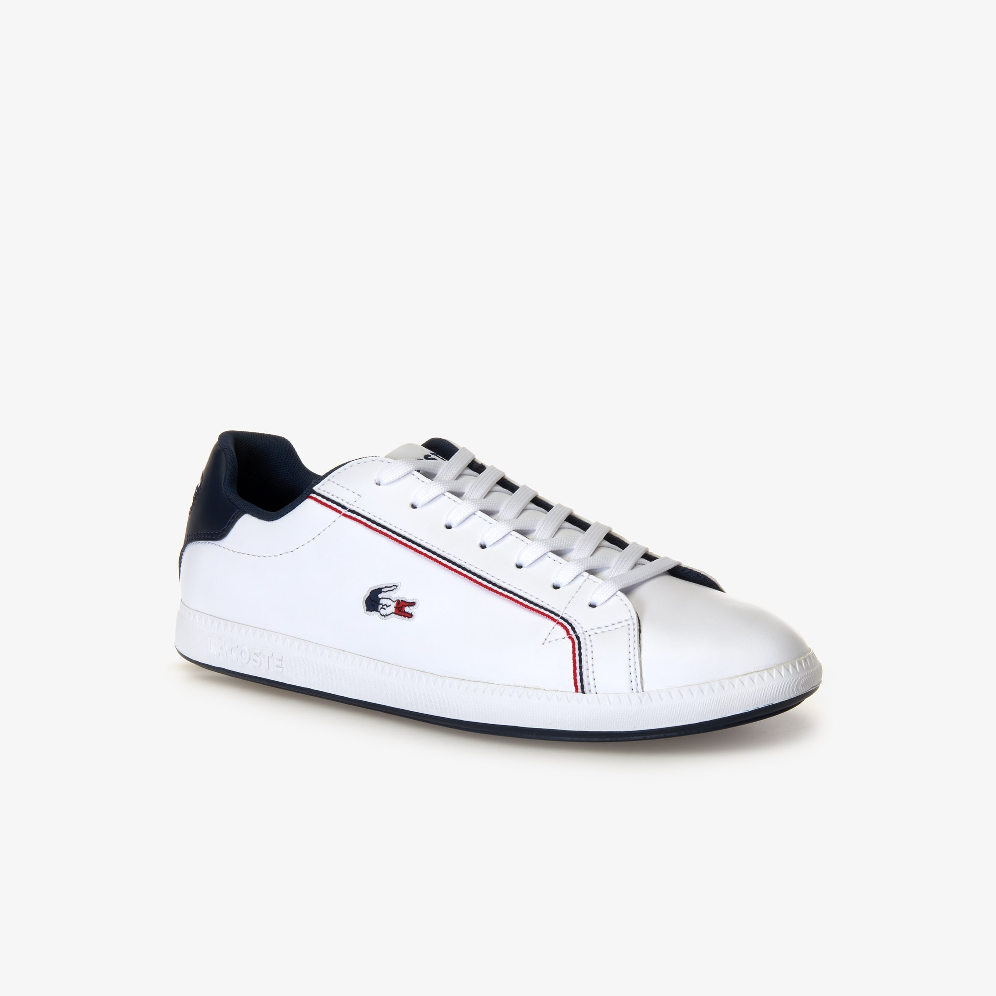 Men's Graduate Leather Tricolore Sneakers