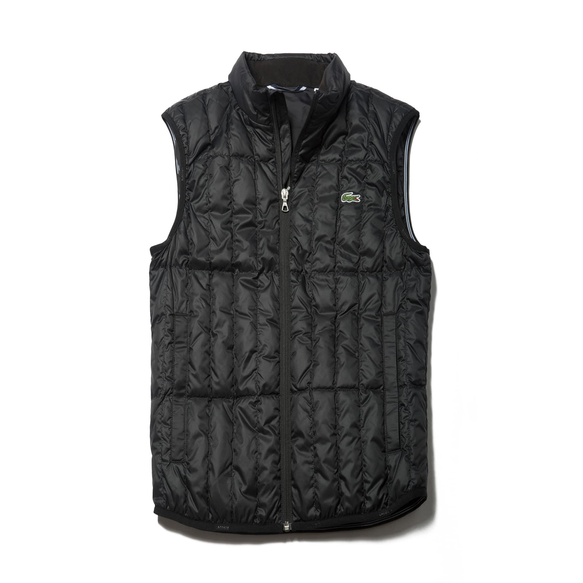 라코스테 스포츠 조끼 Lacoste Mens SPORT Golf Water-resistant Quilted Vest,ocean/navy blue