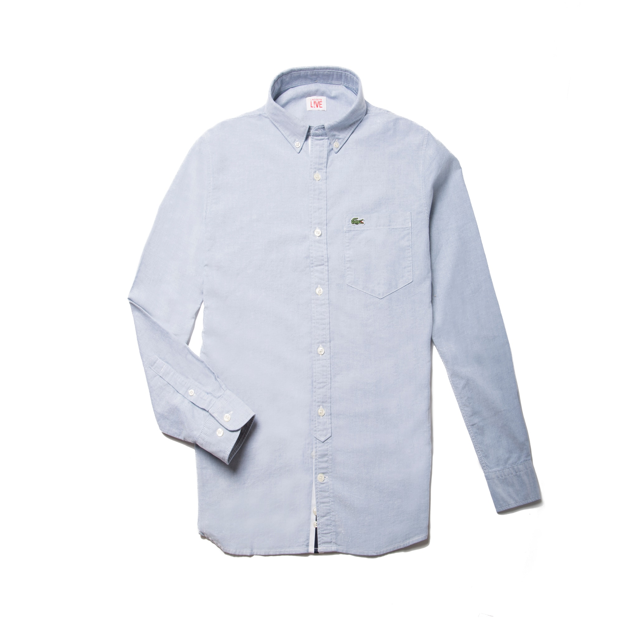 Men's  LIVE Slim Fit Oxford Cotton Shirt