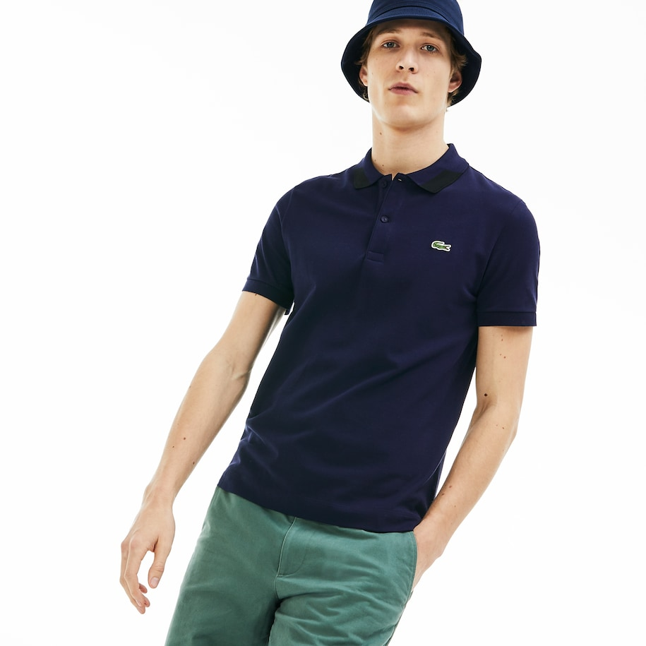 Men's Regular Fit Stretch Polo Shirt