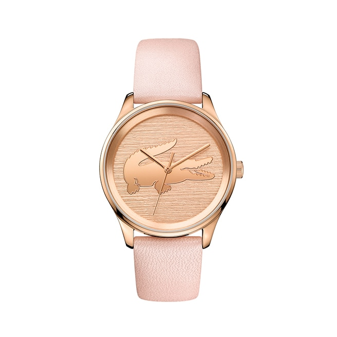Women's Victoria Pink Leather Strap