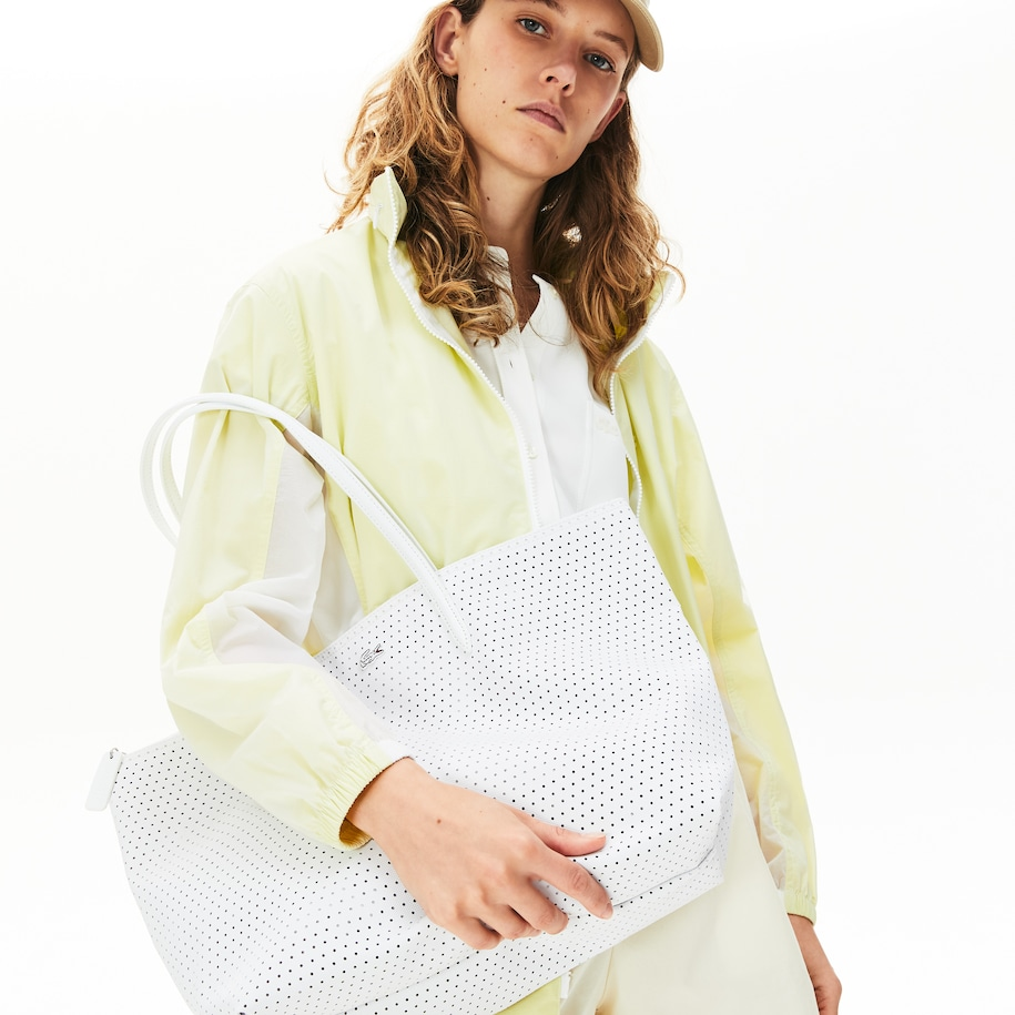 Women's Perforated Shopping Bag