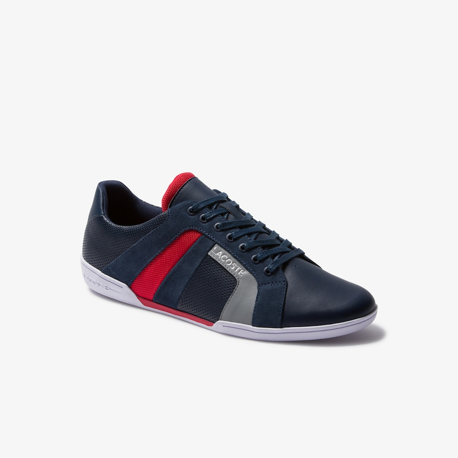Men's Chaymon Club Leather and Suede Sneakers
