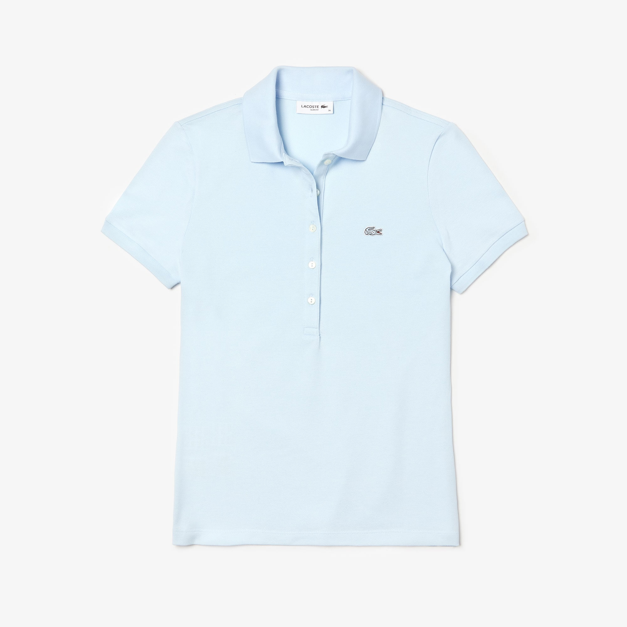 Women's  Slim Fit Stretch Mini Cotton Piqué Polo