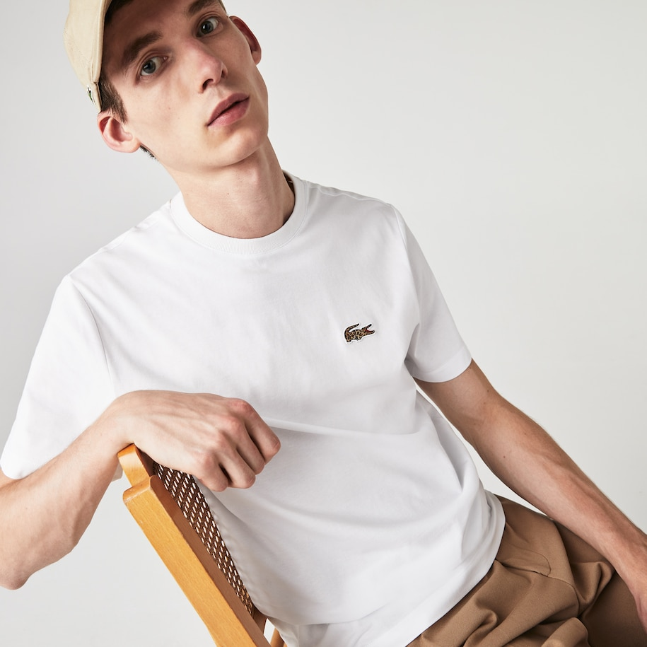 Men's Lacoste x National Geographic Organic Cotton T-shirt