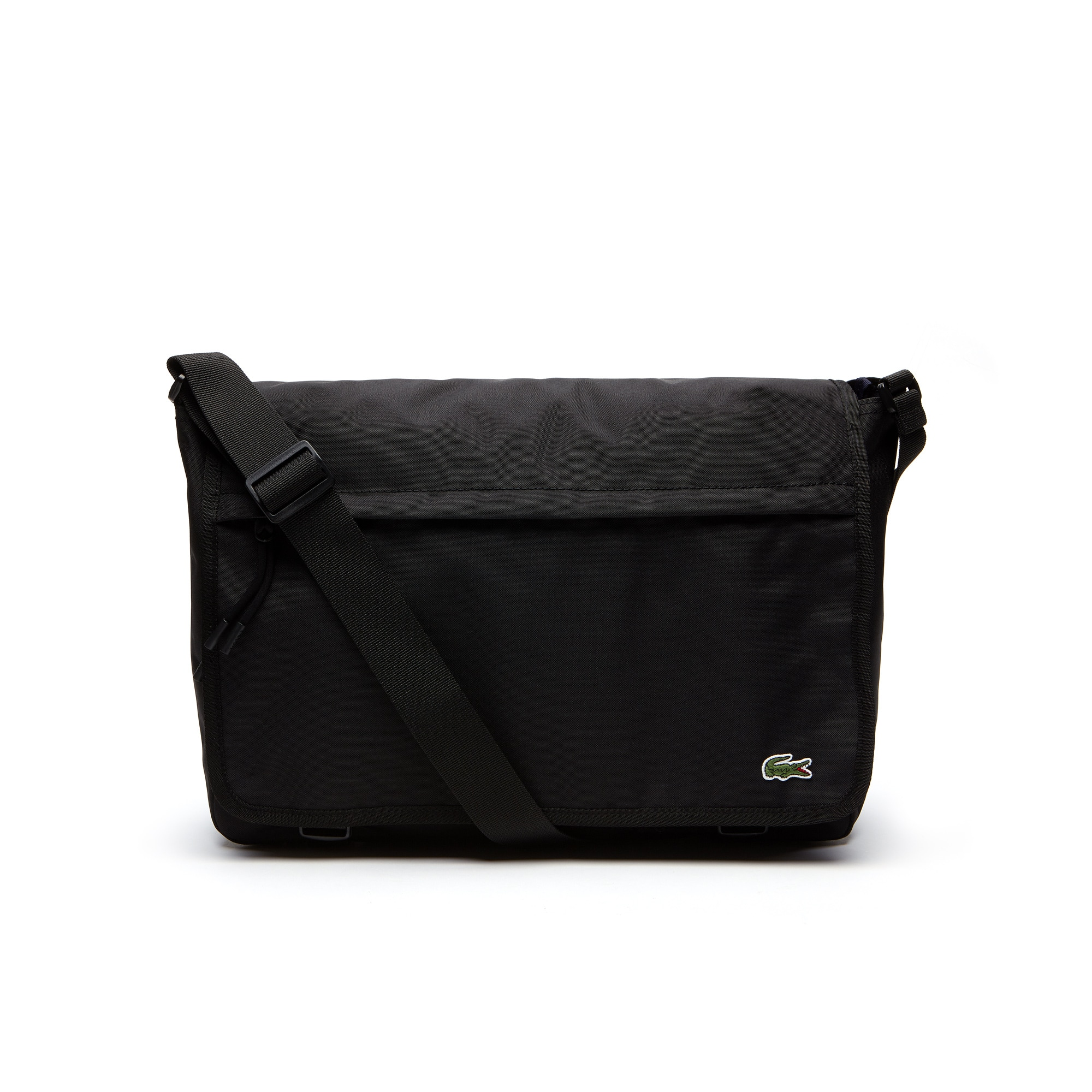 Men's Néocroc Monochrome Canvas Flap Bag