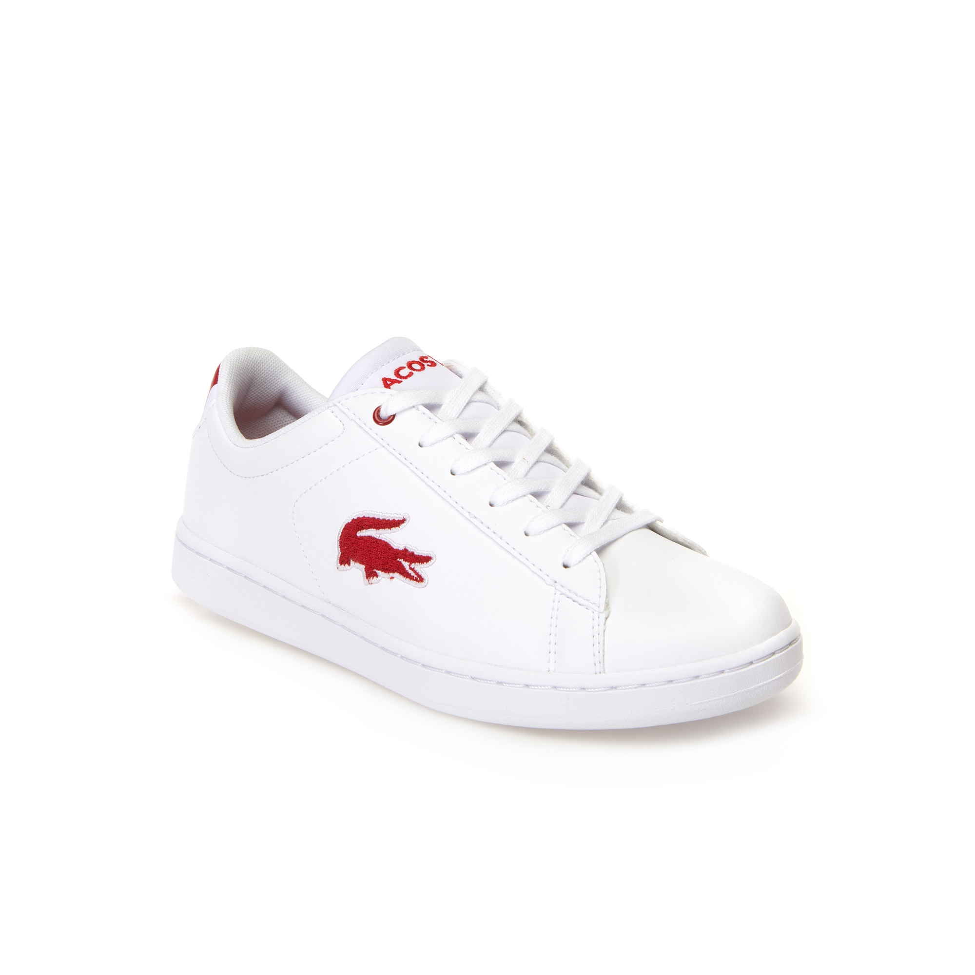 Juniors' Carnaby Evo White Synthetic and Textile Trainers