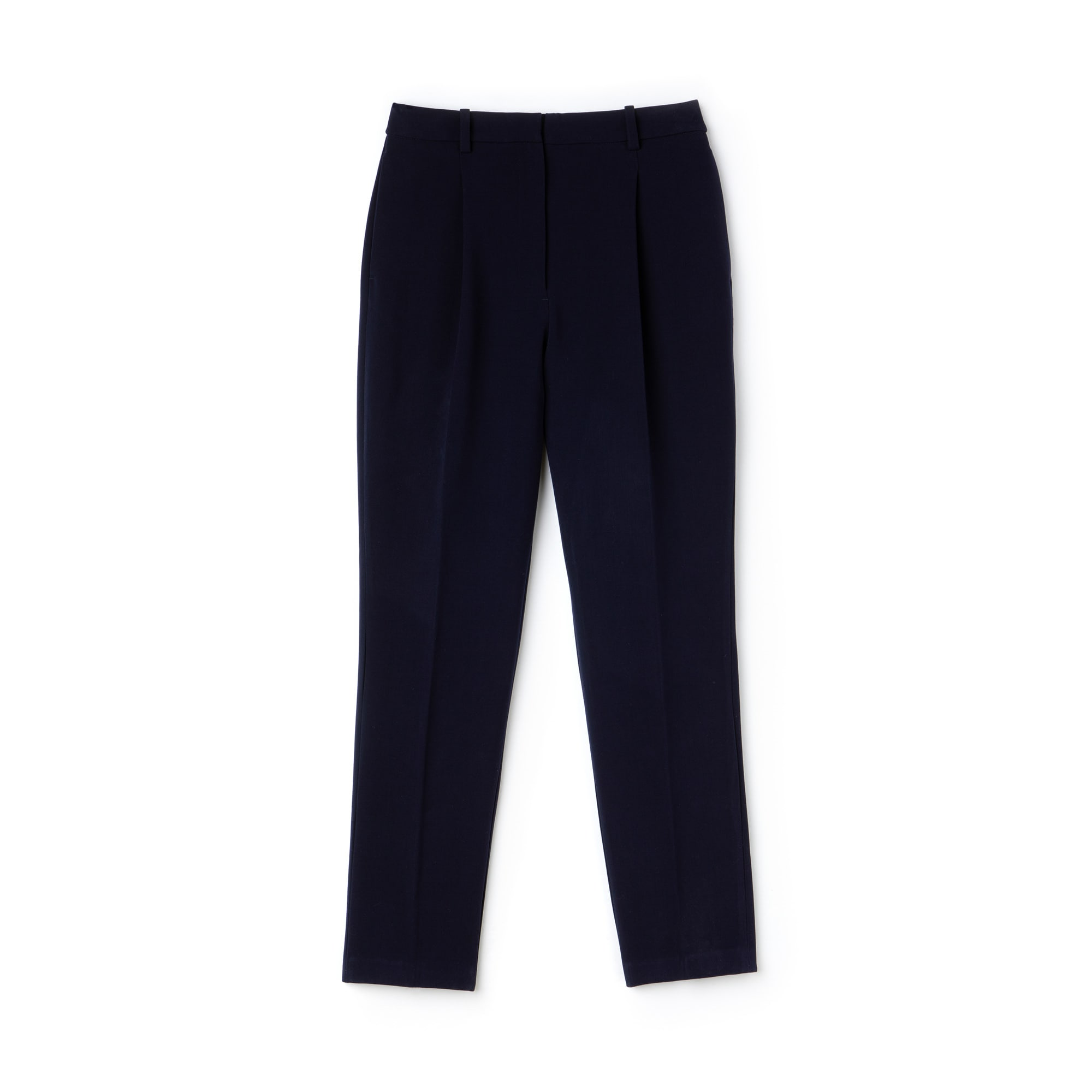 Women's Slim Fit Stretch Cotton Gabardine Carrot Pants