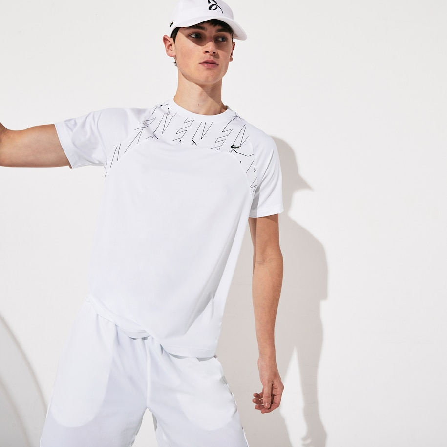 Men S Sport X Novak Djokovic Breathable Ultra Light T Shirt Lacoste