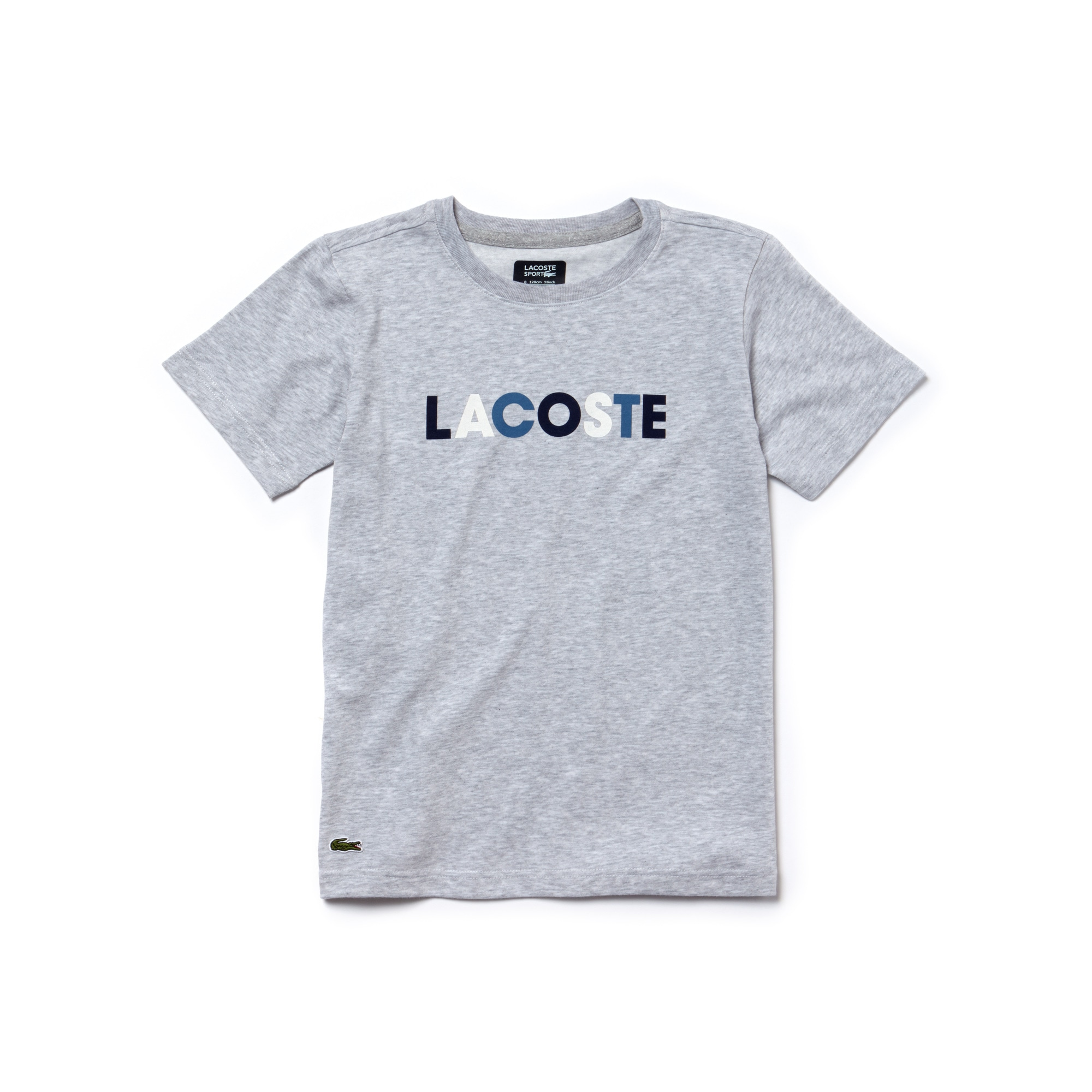 Boys' SPORT Lettering Technical Jersey Tennis T-shirt