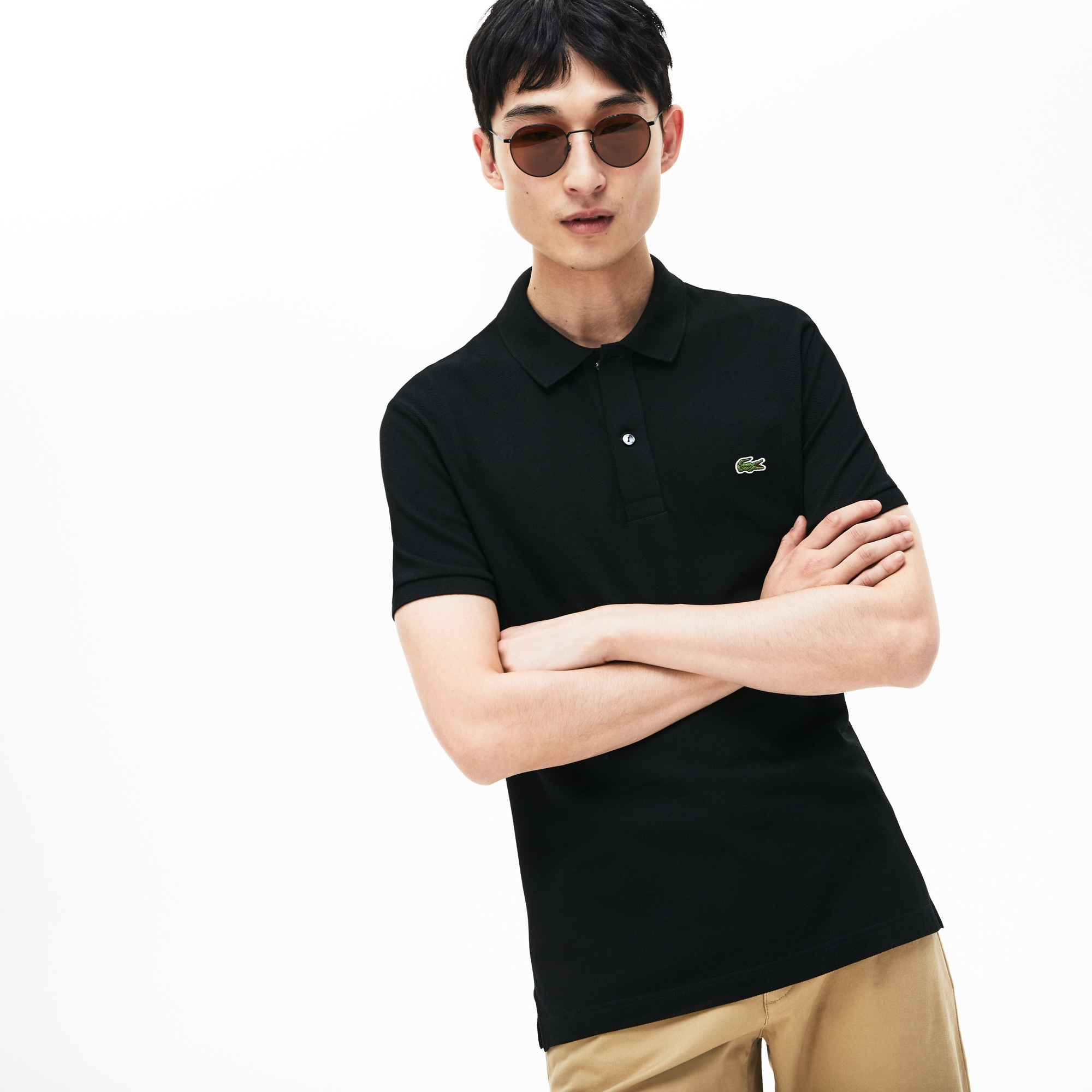 73c80871ed Men's Petit Piqué Slim Fit Polo Shirt