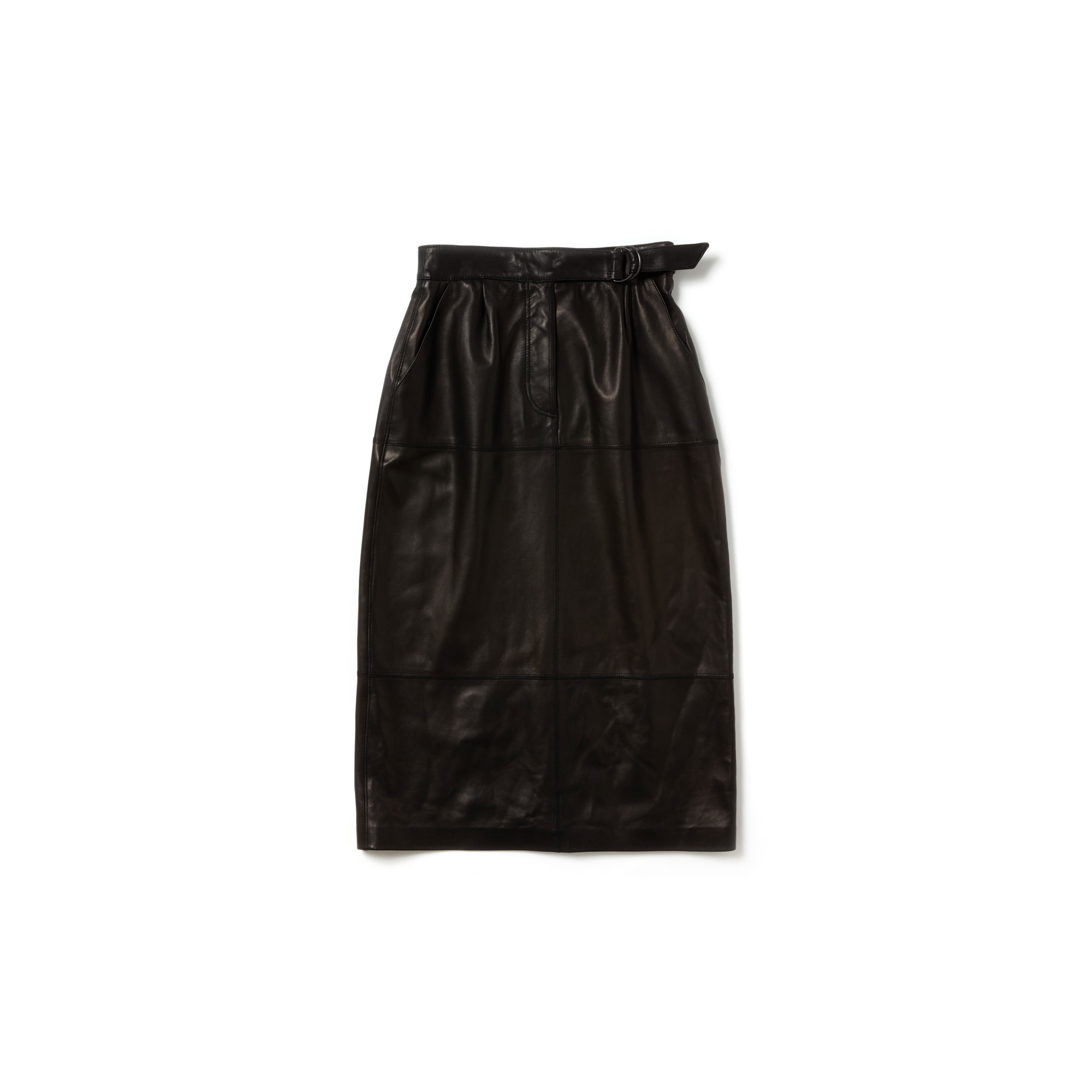 Women's Fashion Show High Waisted Soft Leather Skirt