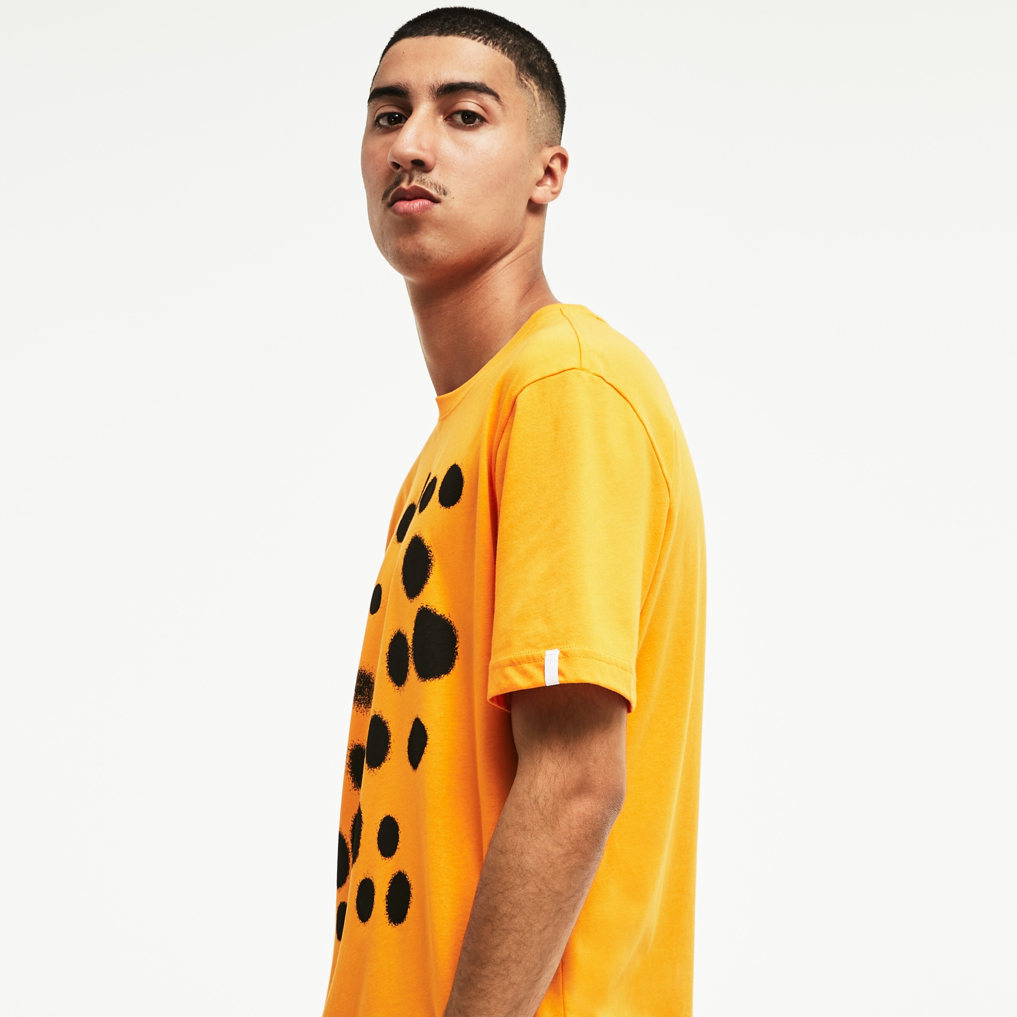 Men's LIVE Spray Paint Print T-Shirt