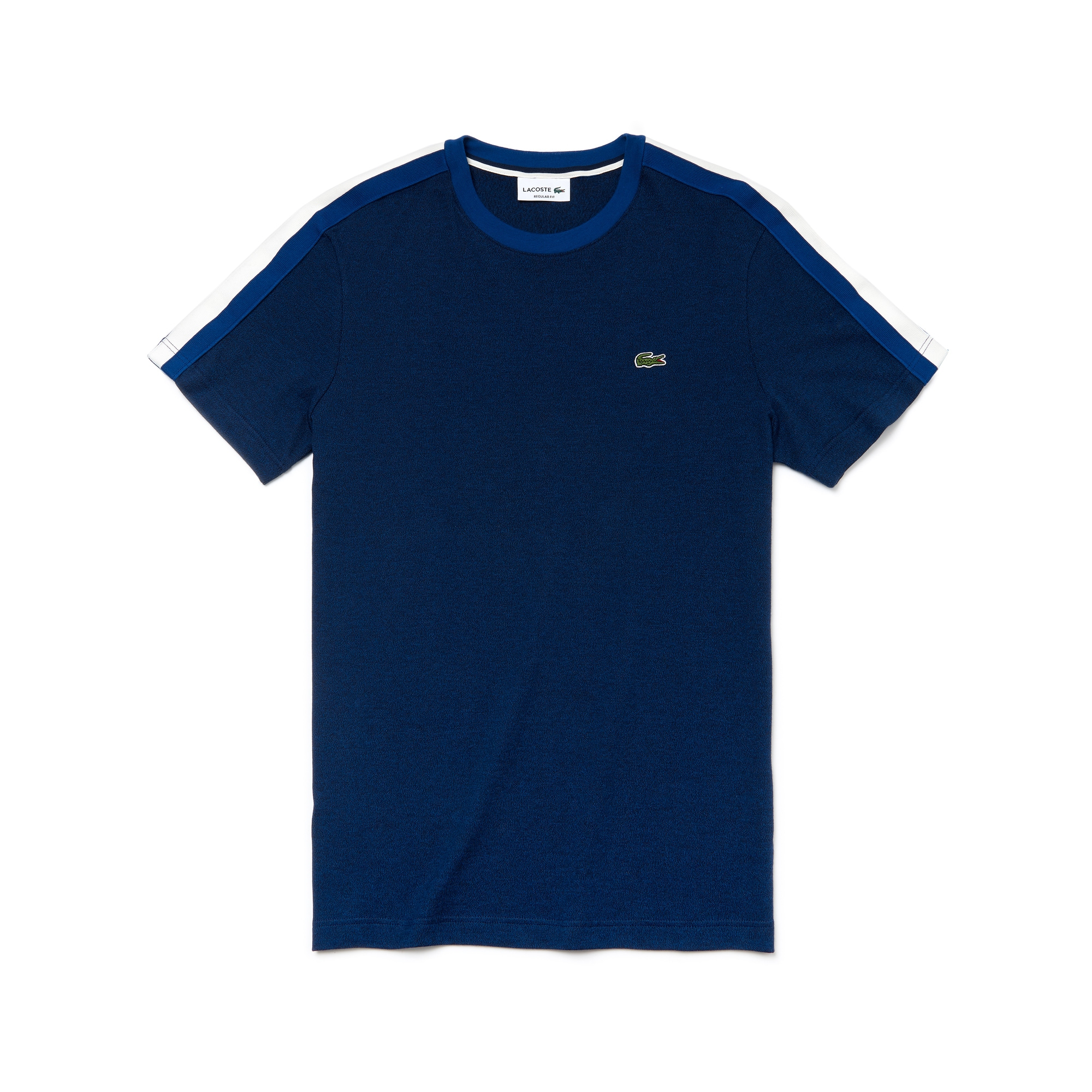 Men's Crew Neck Contrast Band Jersey T-shirt