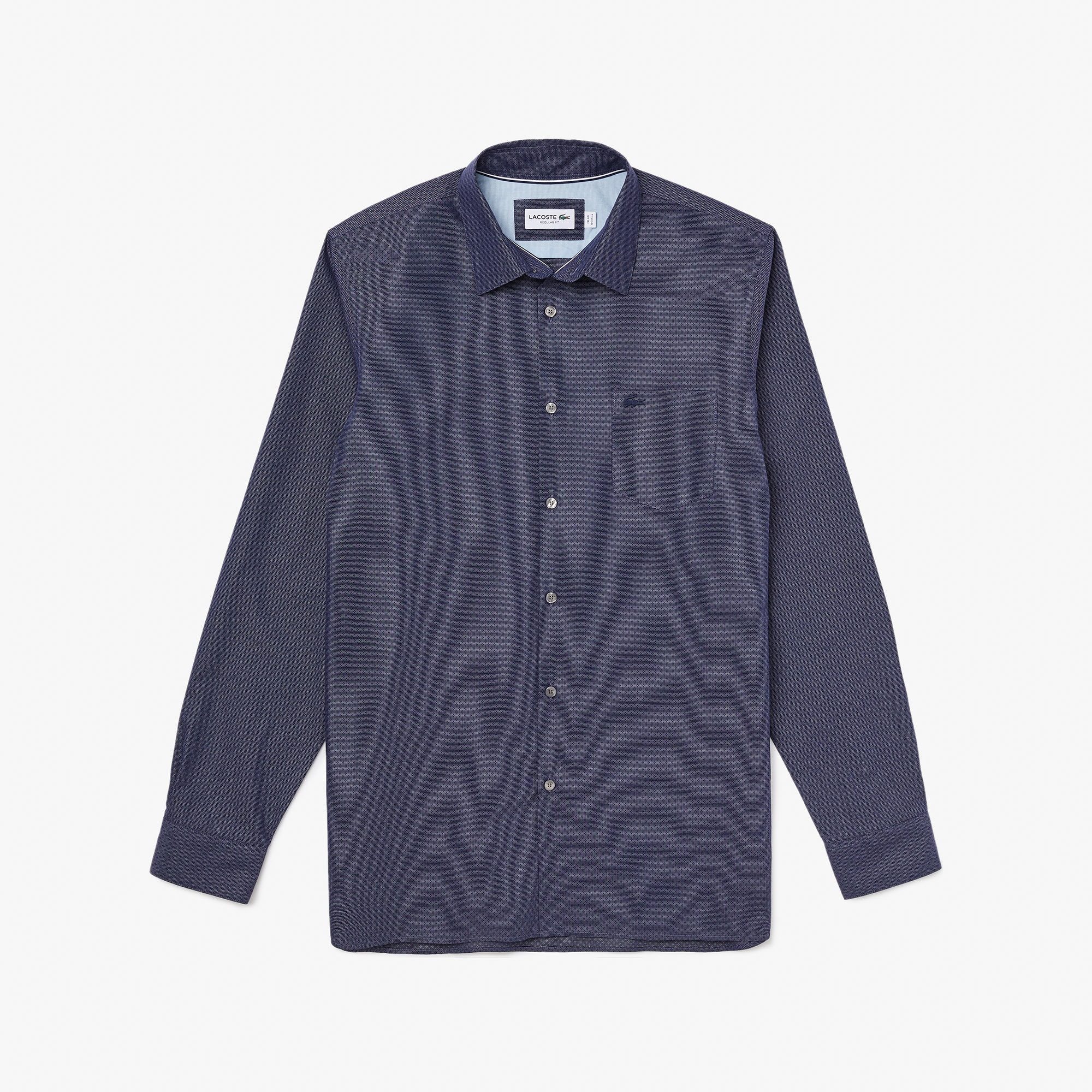 Men's Textured Cotton Shirt
