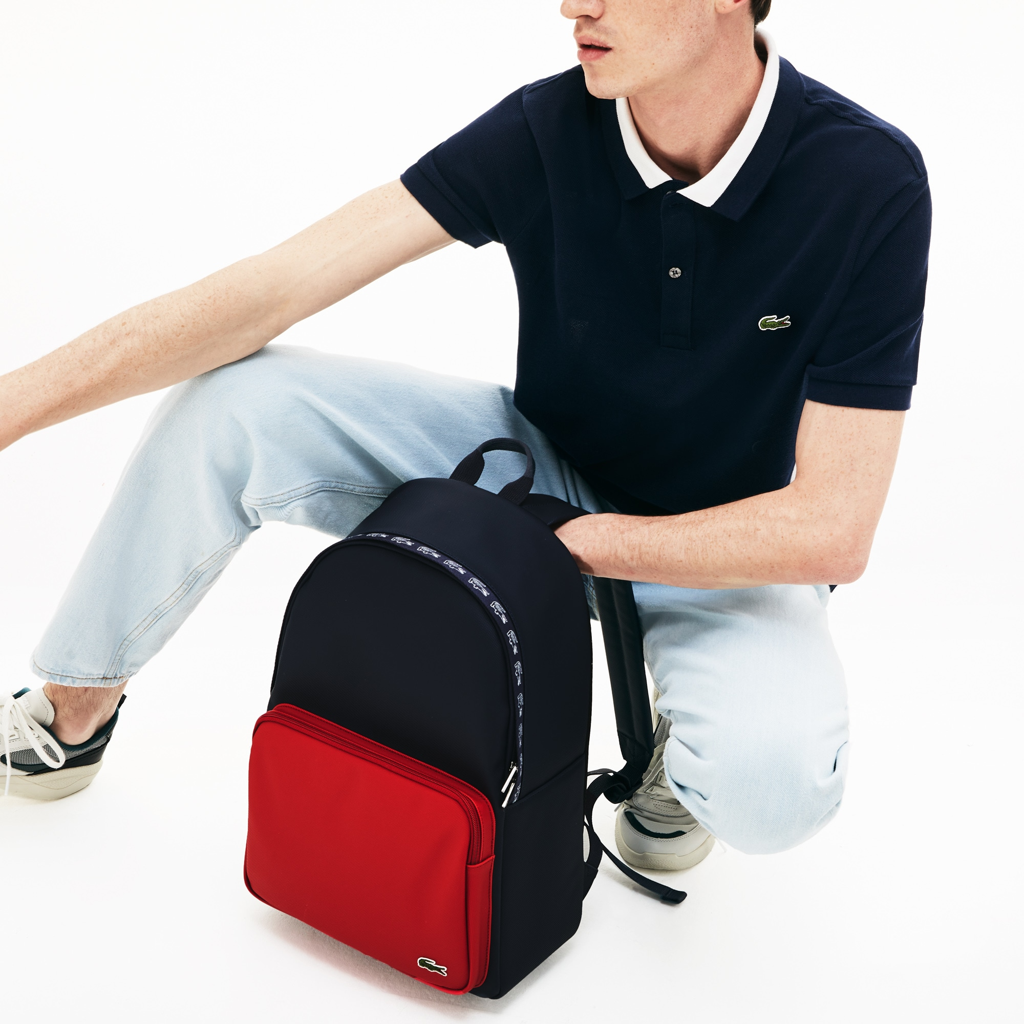 Men's Colorblock Backpack