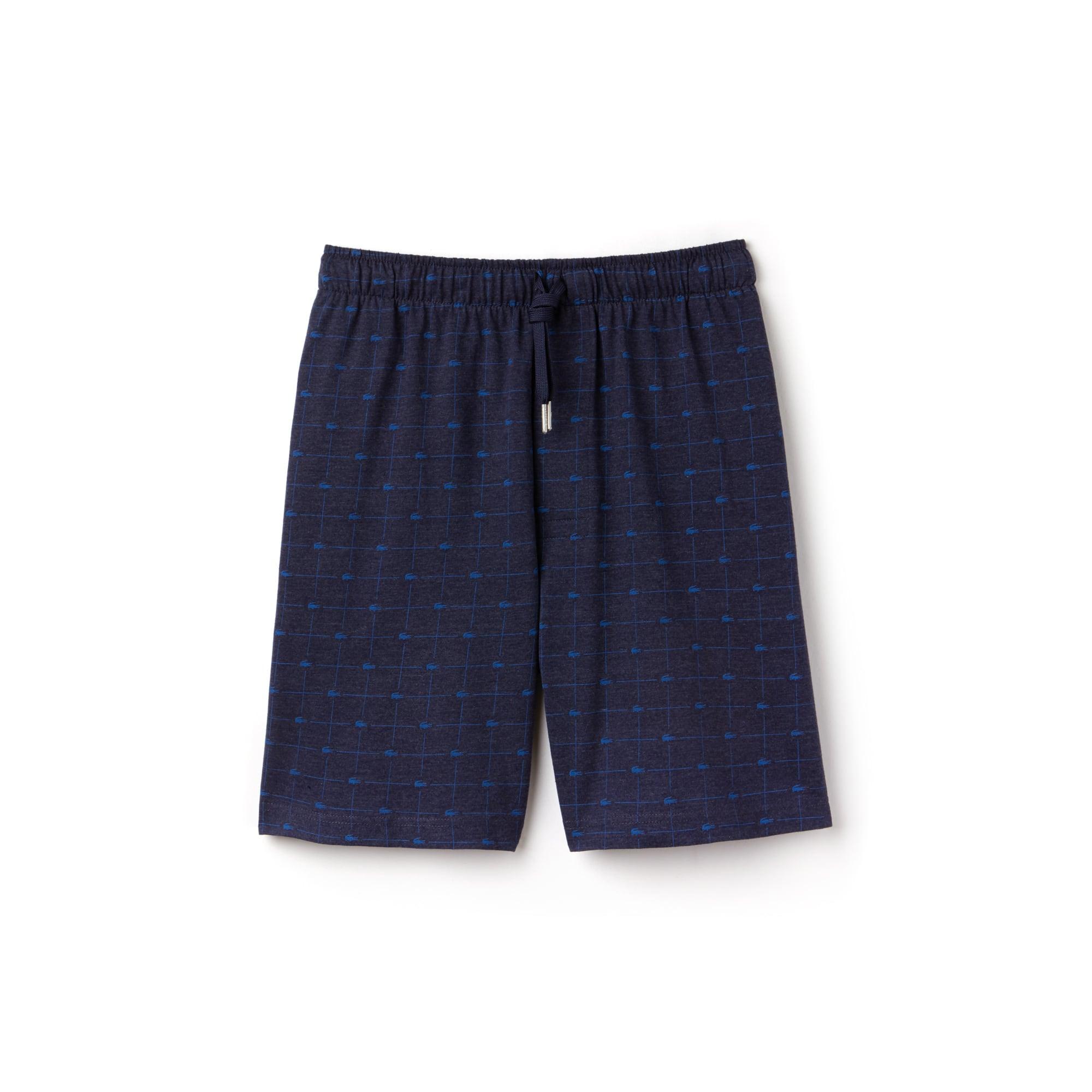 Men's Signature Print Knit Short